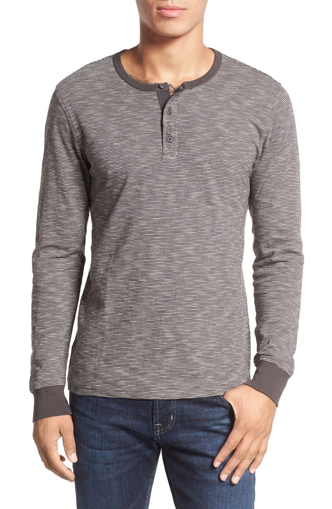 Alternate Image 1 Selected - 1901 Thin Stripe Henley