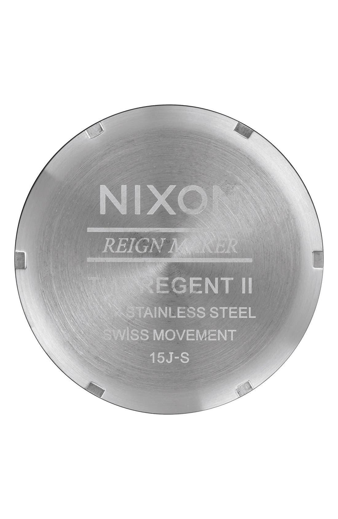 Alternate Image 4  - Nixon 'The Regent II' Bracelet Watch, 42mm