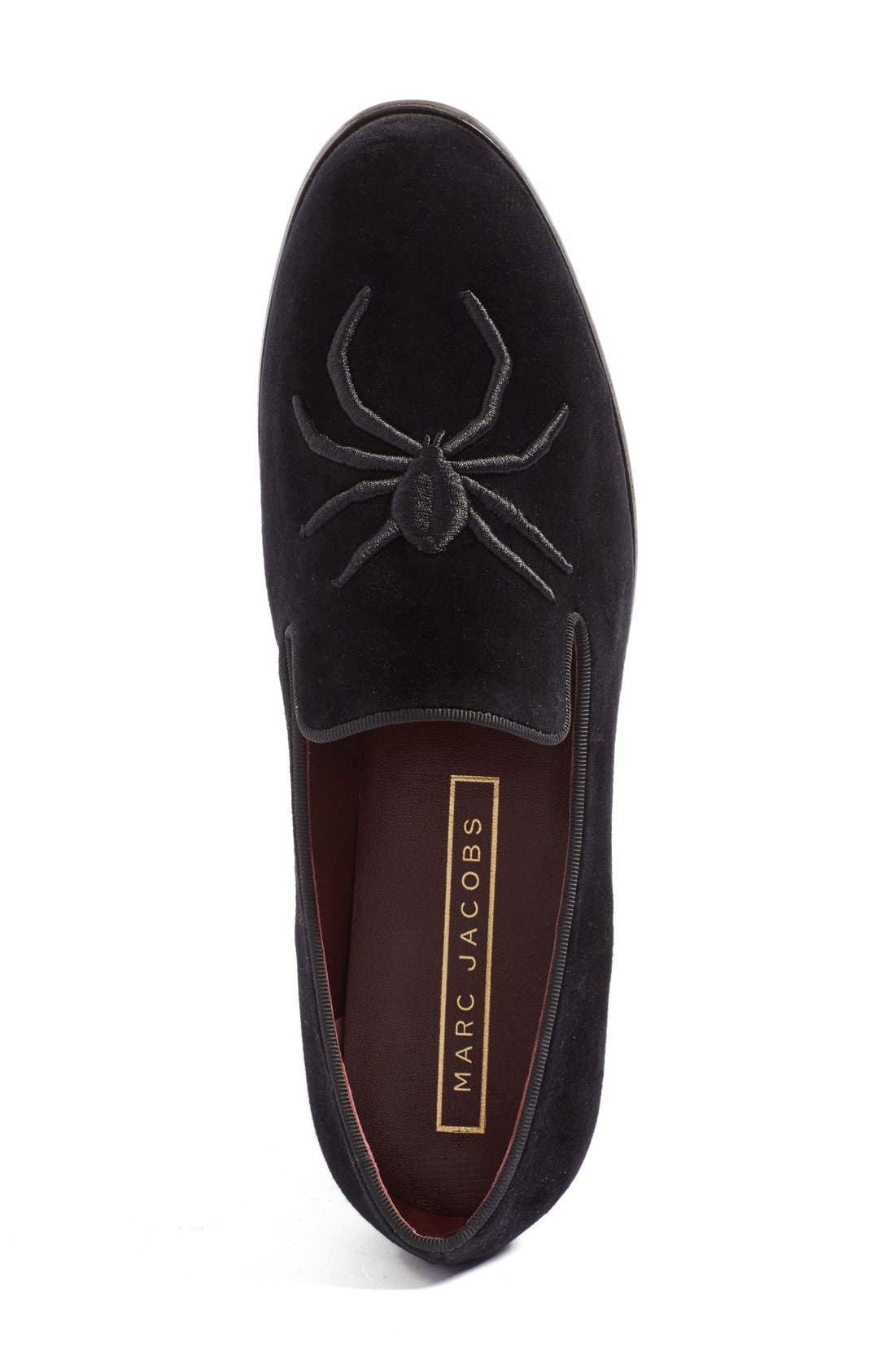 Alternate Image 3  - MARC JACOBS 'Zoe' Embroidered Spider Loafer (Women)