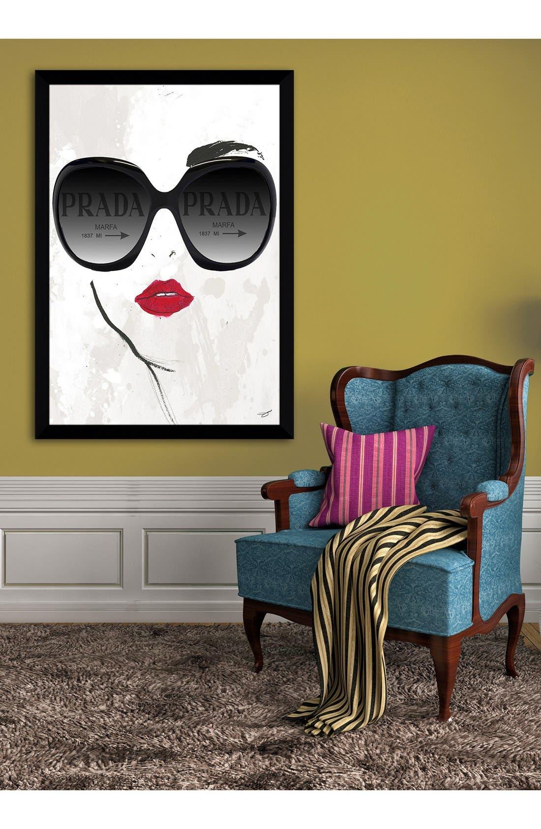 Alternate Image 2  - Picture Perfect 'Prada Sunnies' Fine Art Print