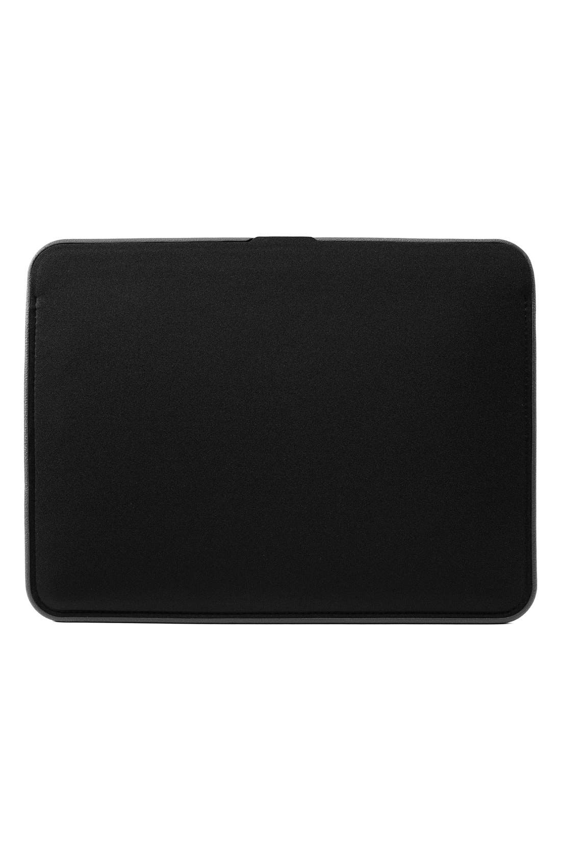 Icon 13-Inch MacBook Air Laptop Sleeve,                             Alternate thumbnail 2, color,                             Black