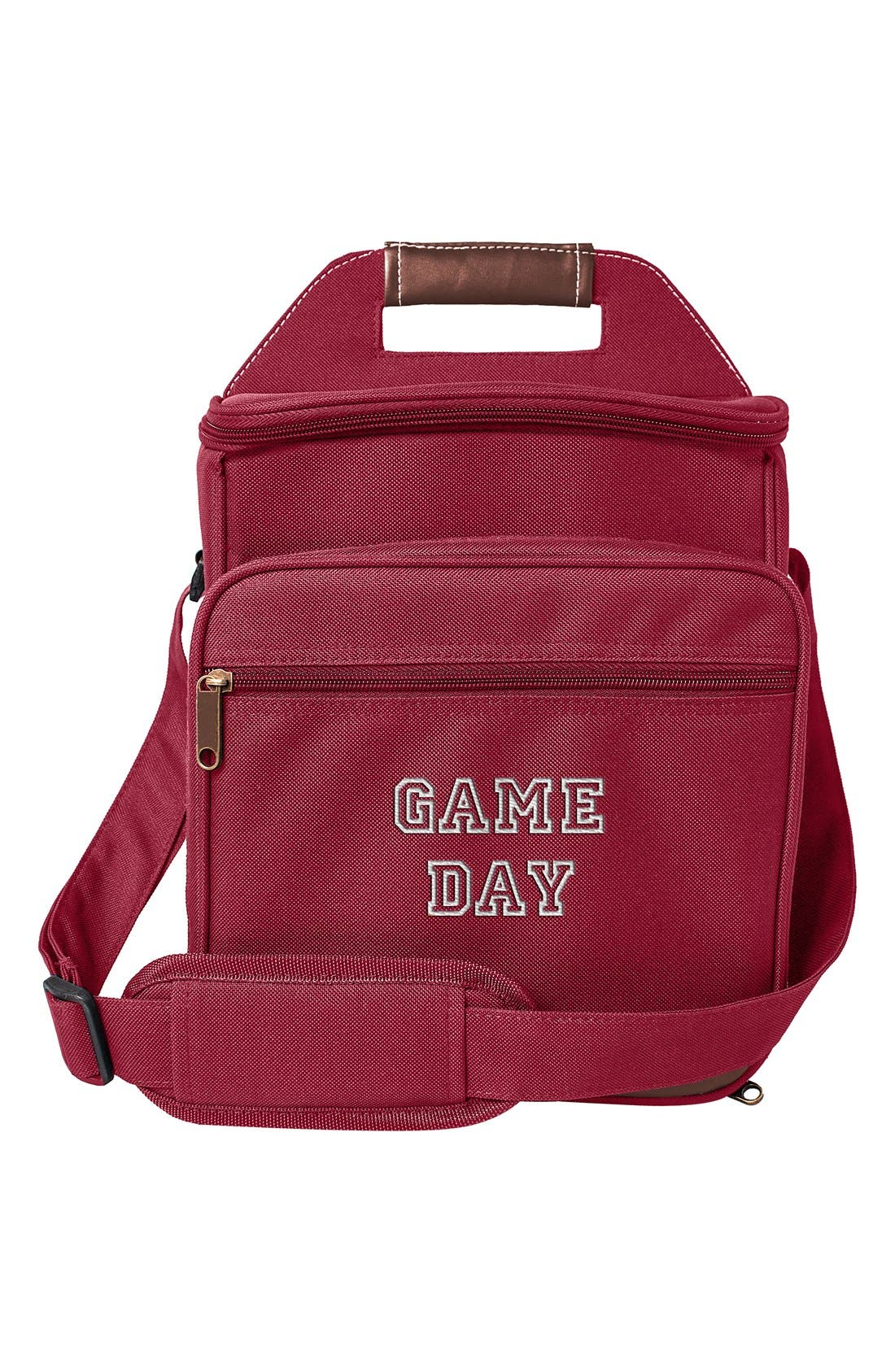 'Game Day' Picnic Cooler Set,                             Main thumbnail 1, color,                             Red