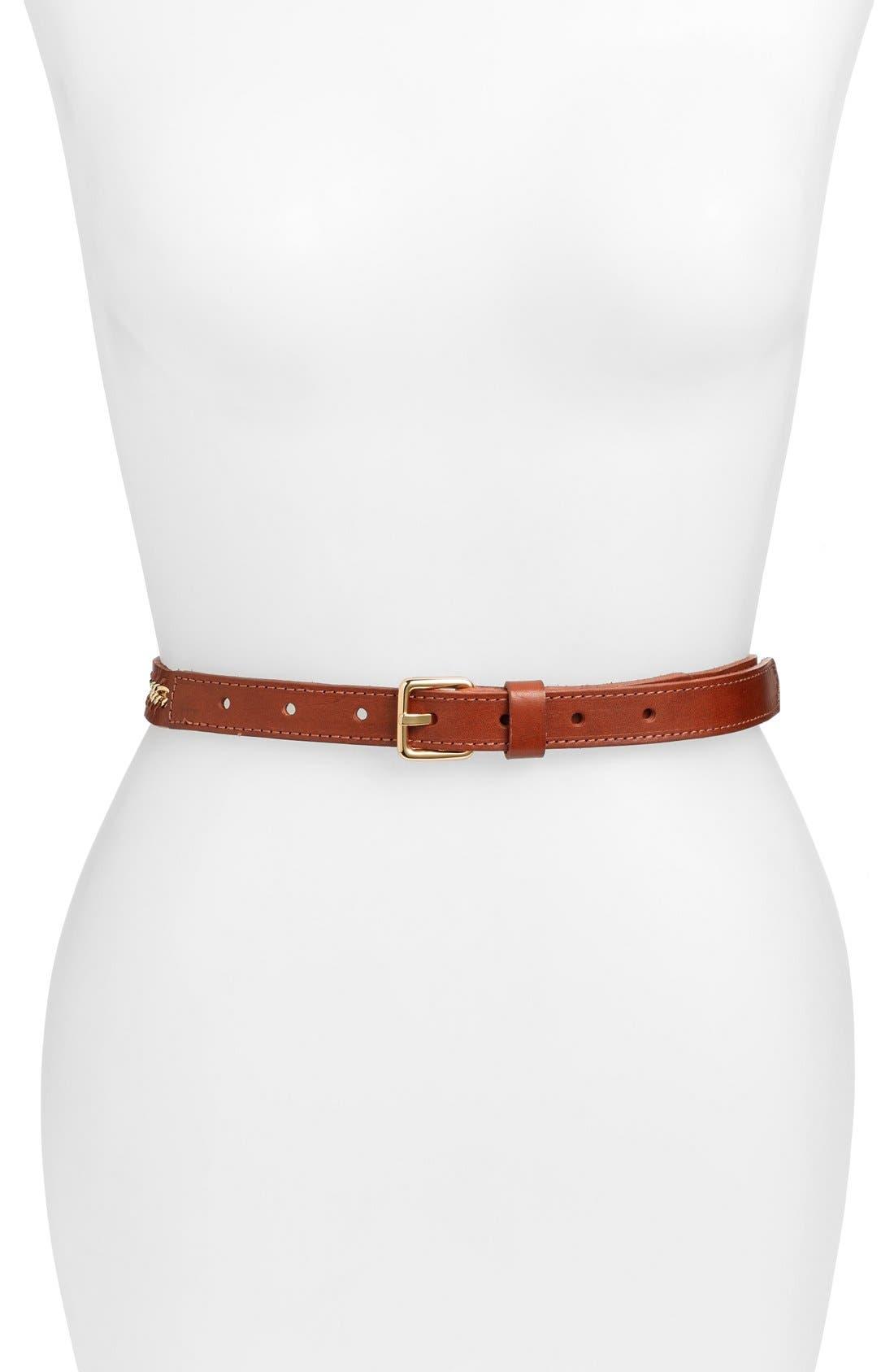 Rebecca Minkoff 'Gigi' Calfskin Leather Belt