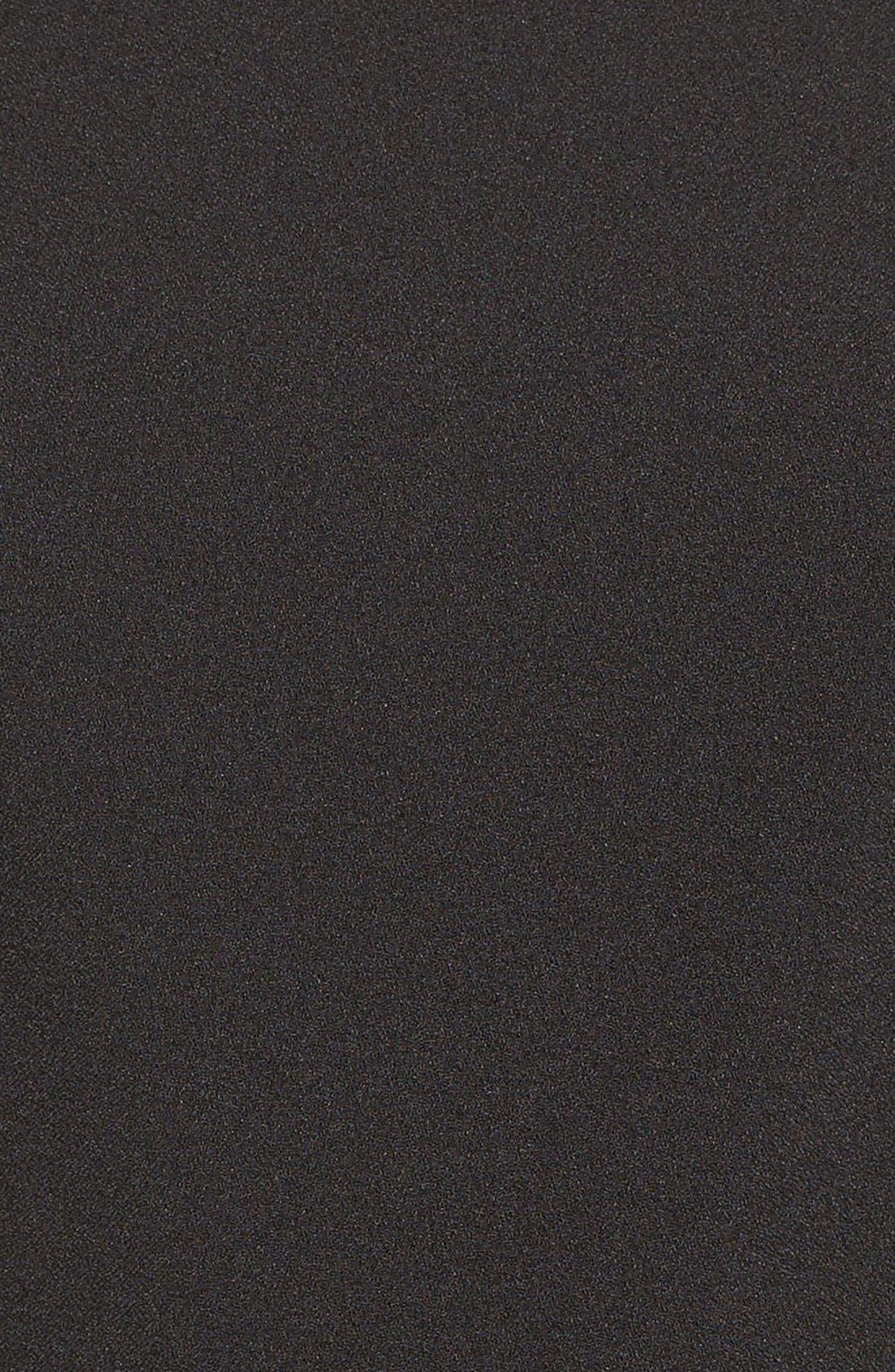 Cold Shoulder Jumpsuit,                             Alternate thumbnail 7, color,                             Black