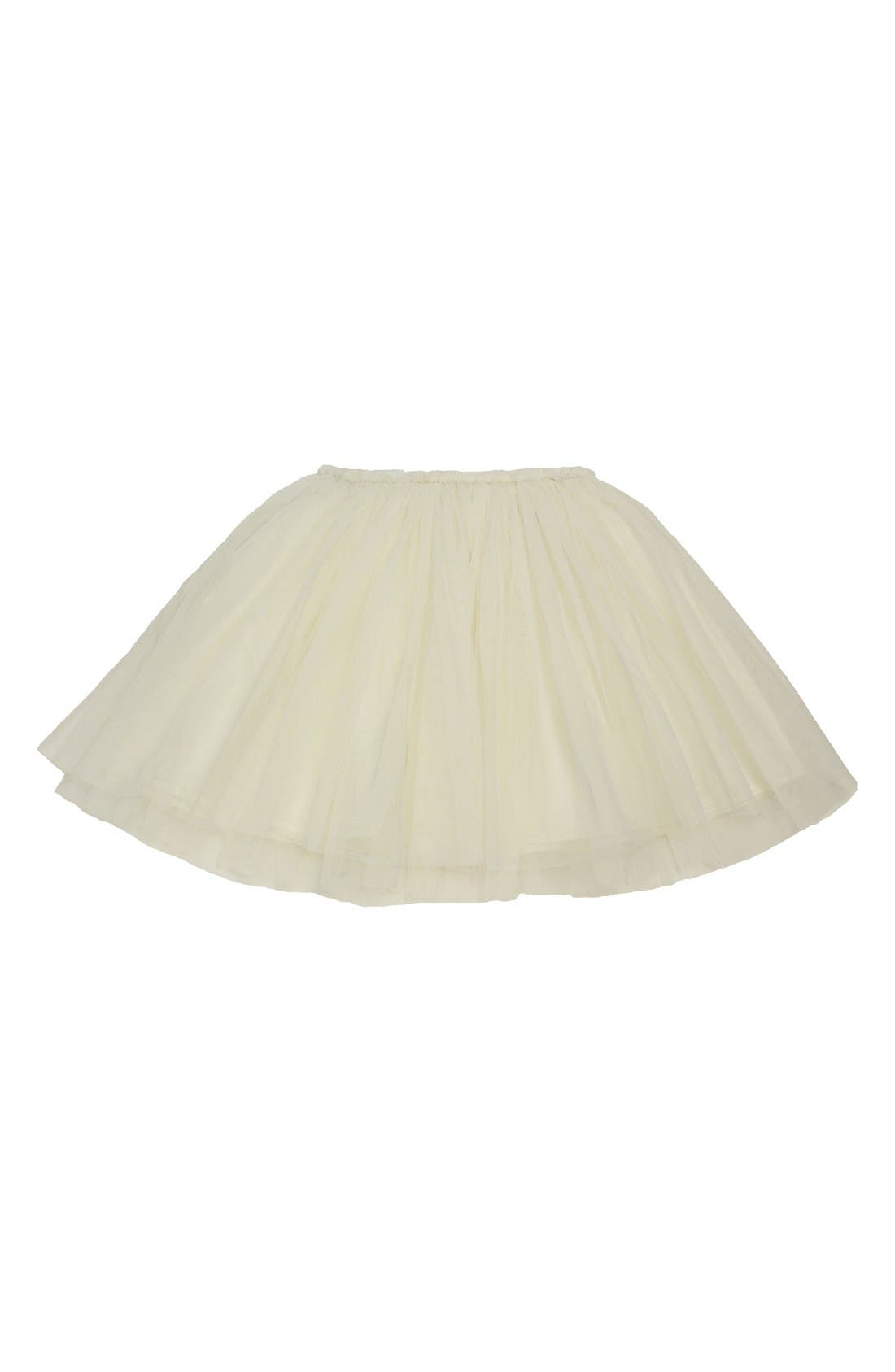 Alternate Image 2  - POCHEW Flower Embellished Tutu (Toddler Girls & Little Girls)