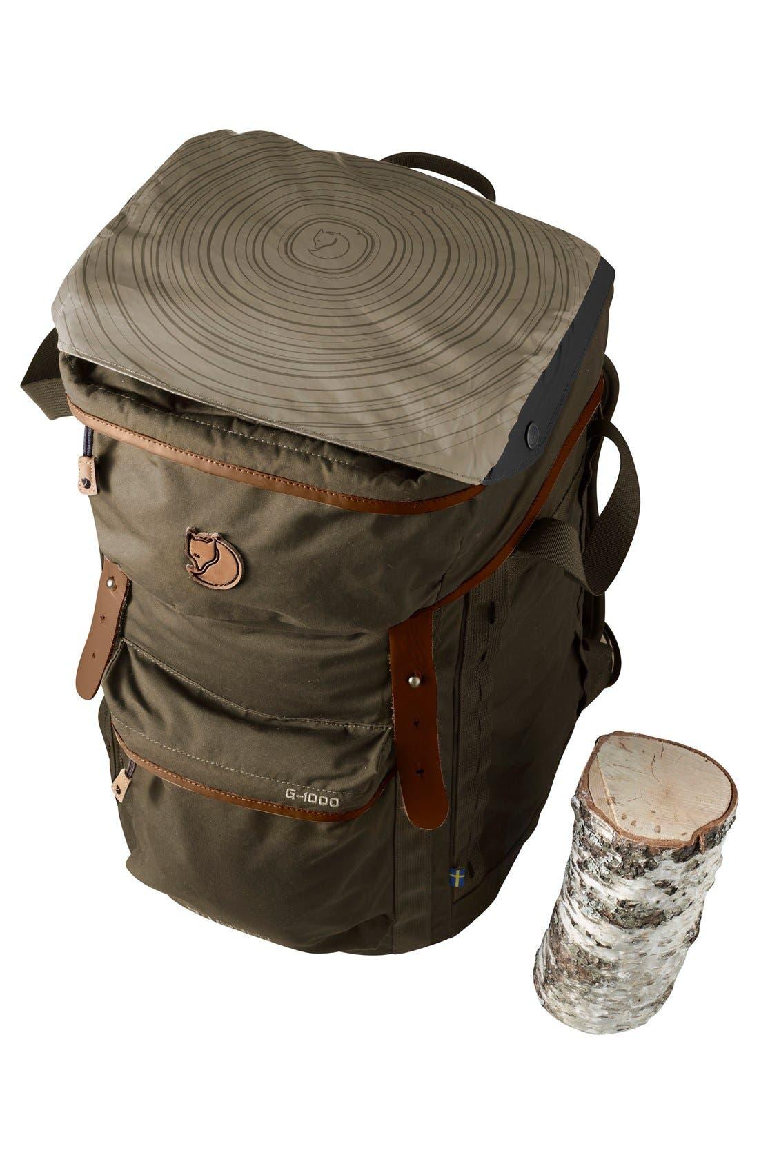 'Stubben' Backpack,                             Alternate thumbnail 7, color,                             Dark Olive