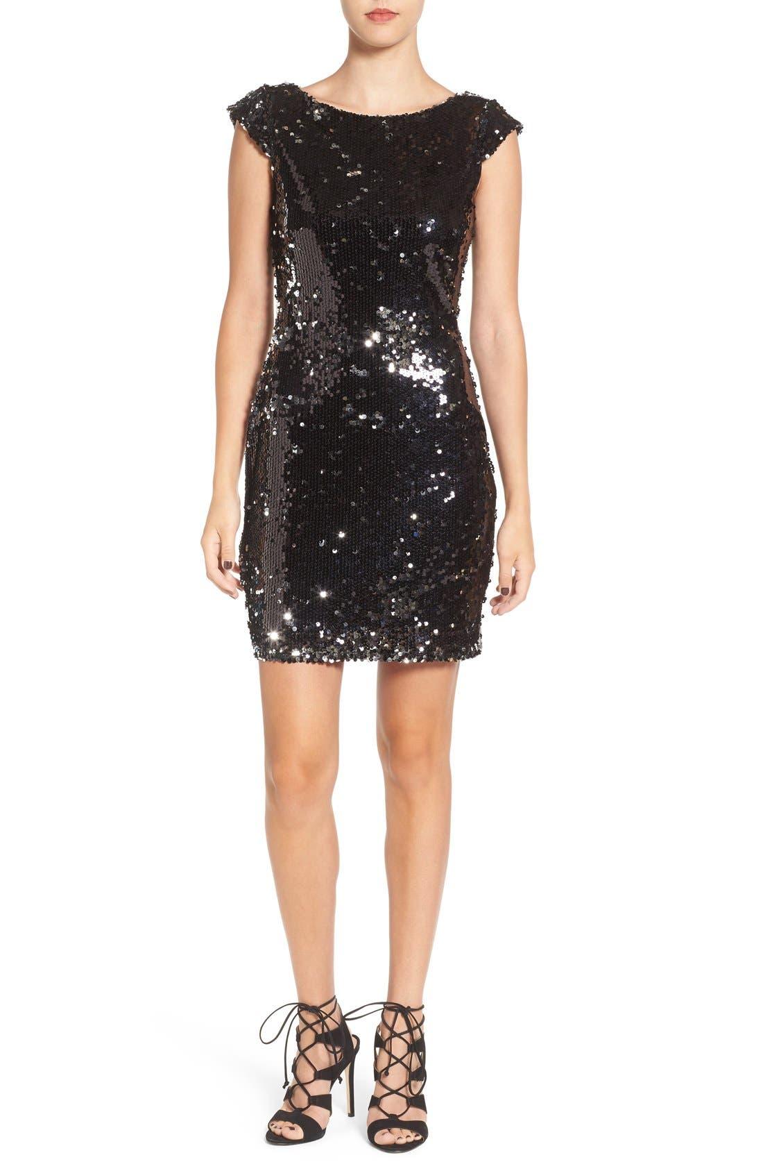 Main Image - Speechless Embellished Body-Con Dress
