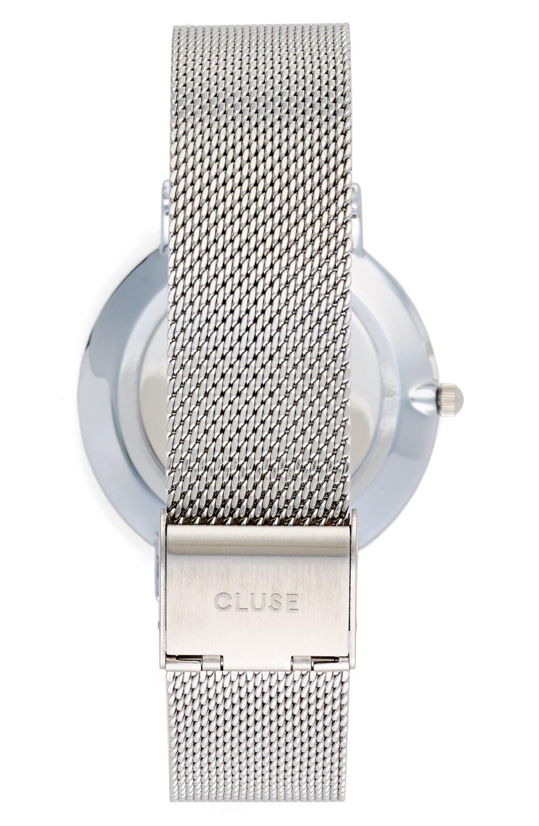 Alternate Image 2  - CLUSE 'La Bohème' Mesh Strap Watch, 38mm