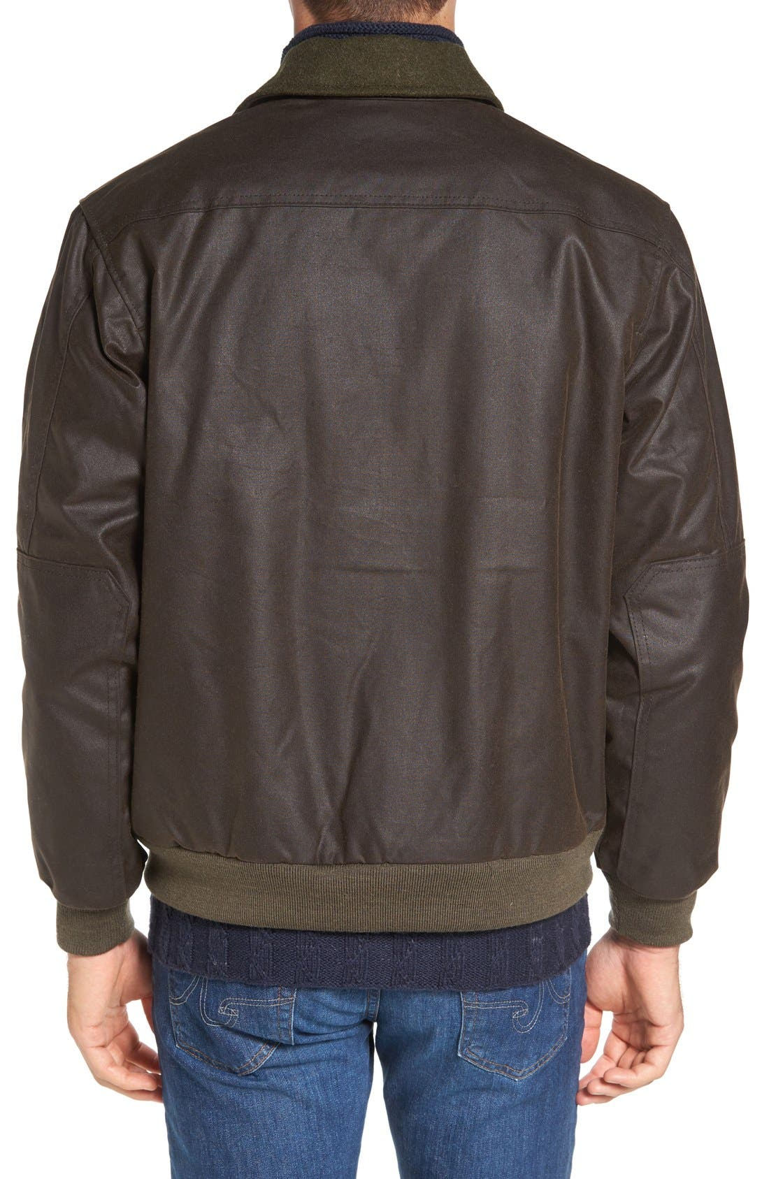 'Ranger' Water Repellent Shelter Cloth Bomber Jacket,                             Alternate thumbnail 2, color,                             Orca Grey