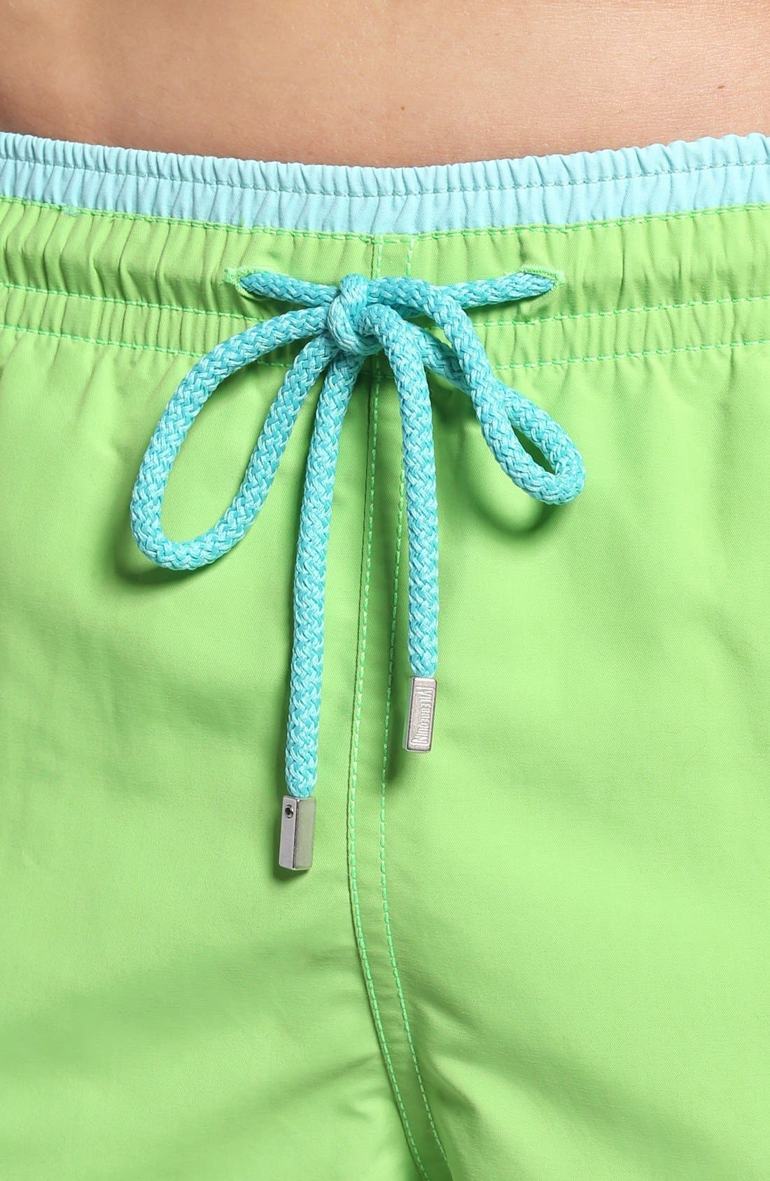 Swim Trunks,                             Alternate thumbnail 4, color,                             Wasabi