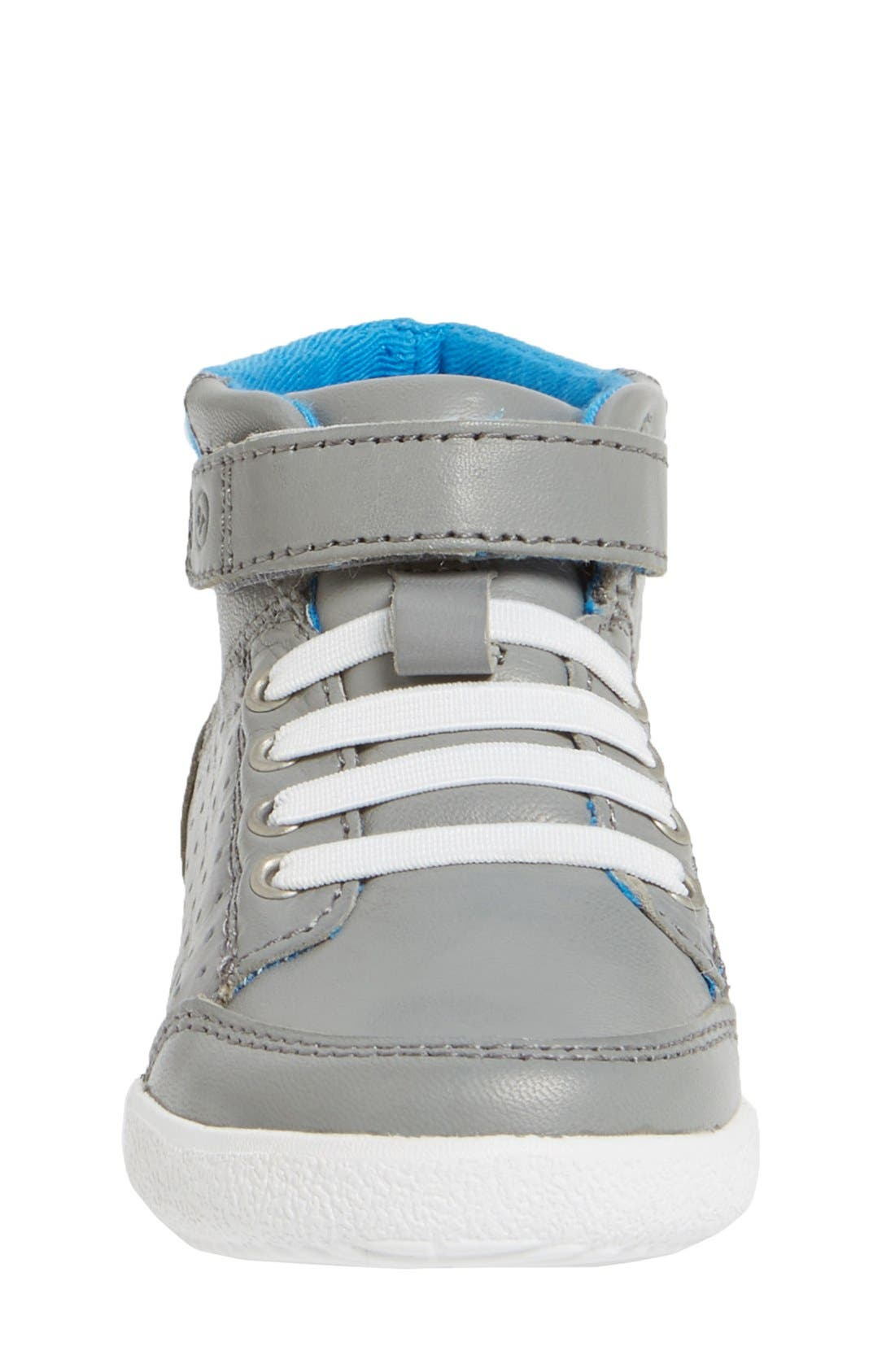 'Stone' Sneaker,                             Alternate thumbnail 3, color,                             Grey