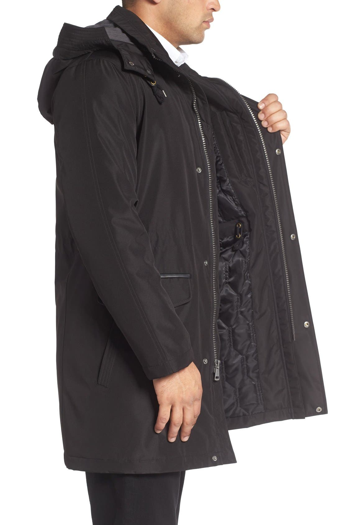 Alternate Image 3  - Cole Haan Insulated Water Resistant Car Coat