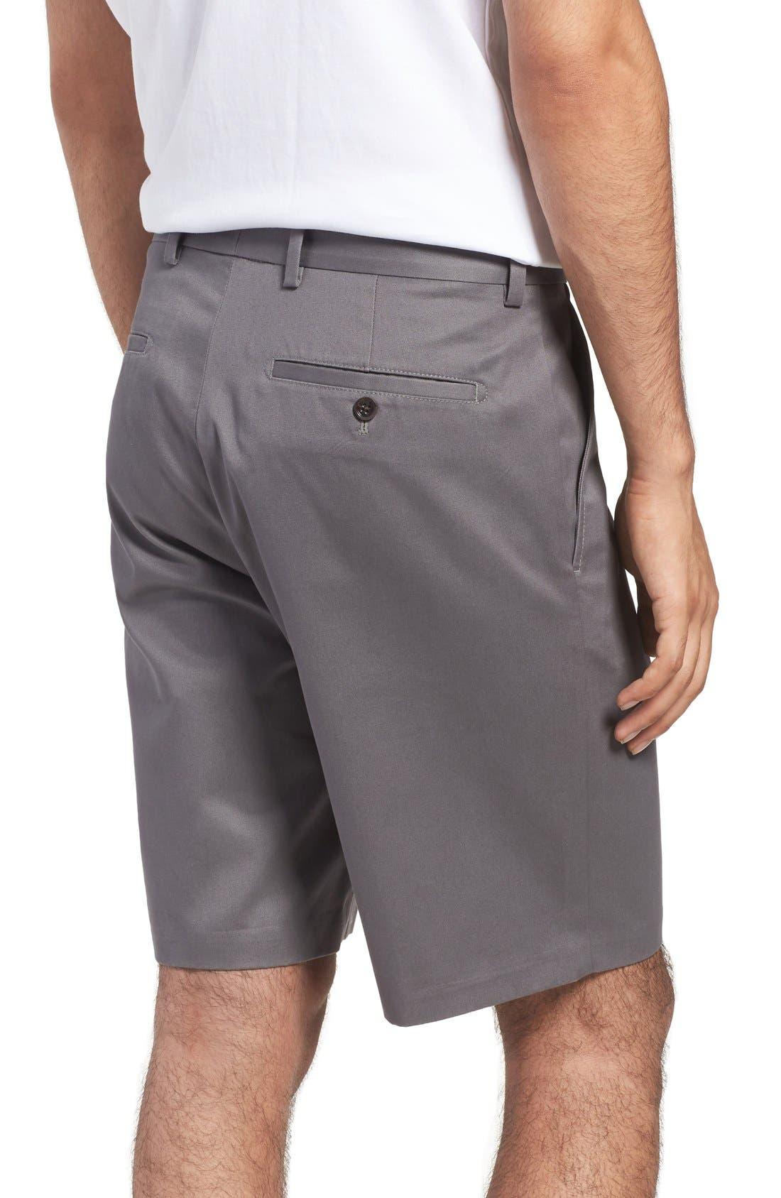 Alternate Image 2  - Nordstrom Men's Shop Smartcare™ Flat Front Shorts