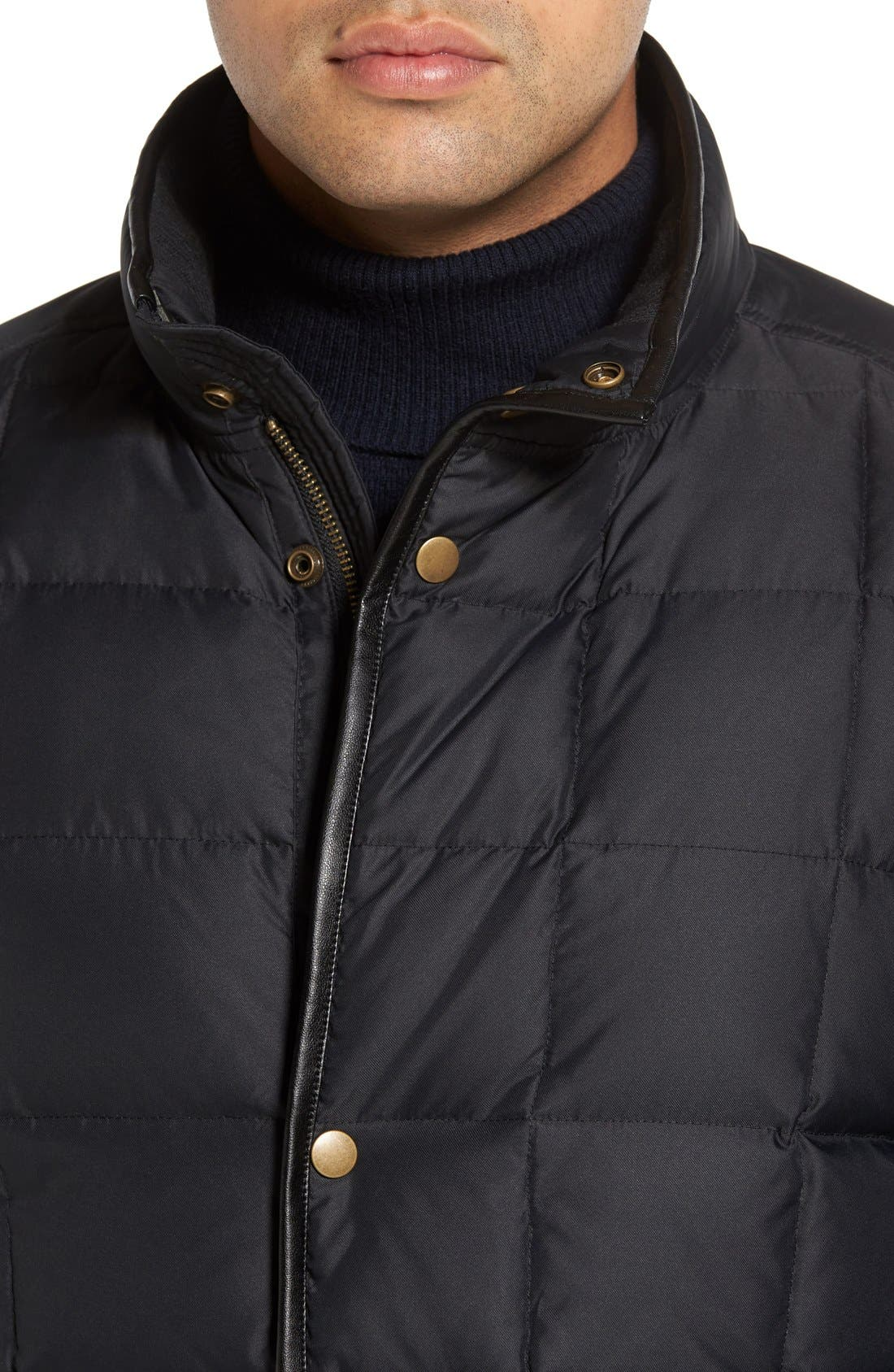 Alternate Image 4  - Cole Haan Box Quilted Jacket