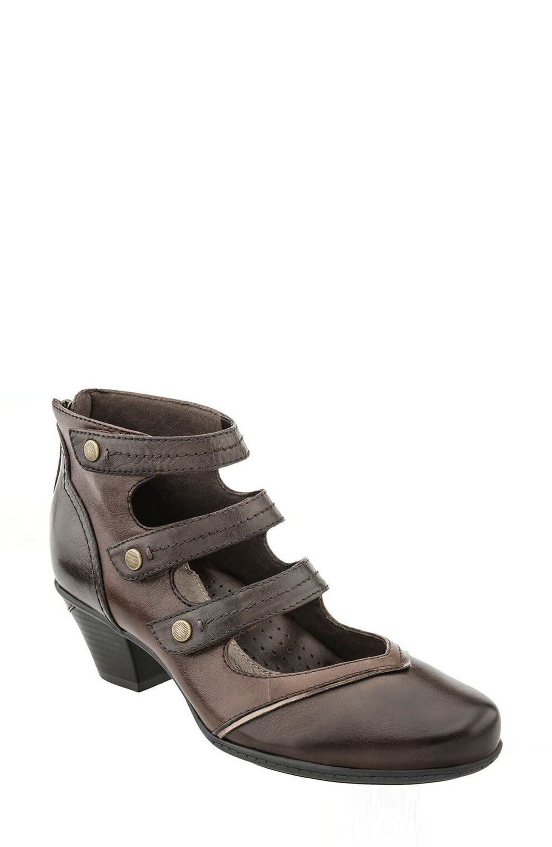 EARTH<SUP>®</SUP> Serano Triple Mary Jane Strap Bootie