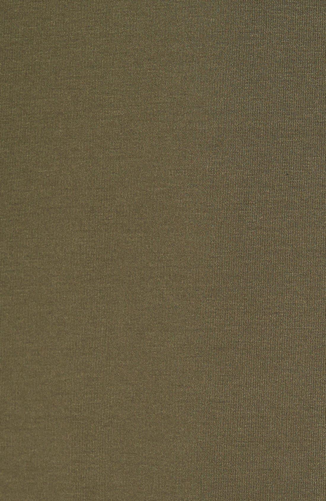 Alternate Image 5  - Madison & Berkeley Side Slit Turtleneck Tunic