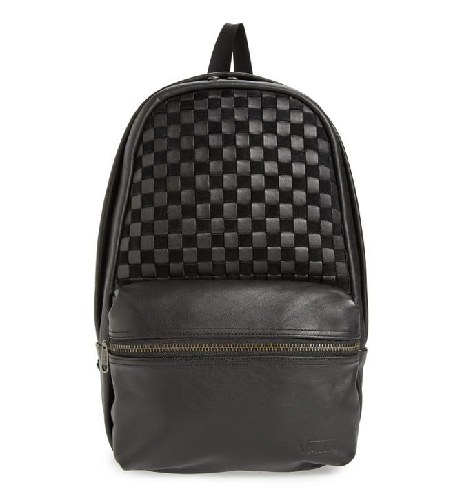 Vans 'Calico Plus' Leather Backpack | Nordstrom