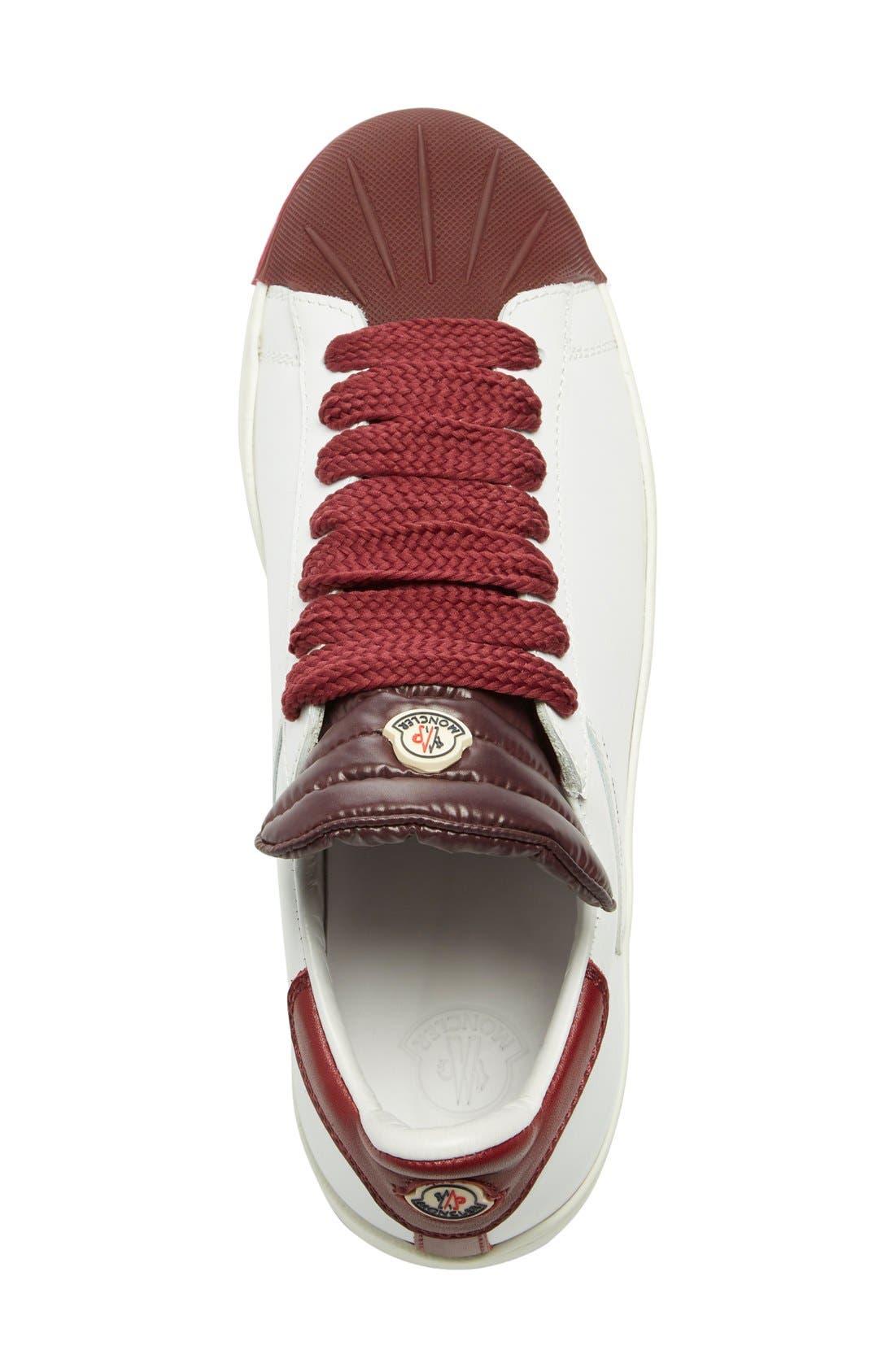 'Angeline Scarpa' Sneaker,                             Alternate thumbnail 3, color,                             Burgundy