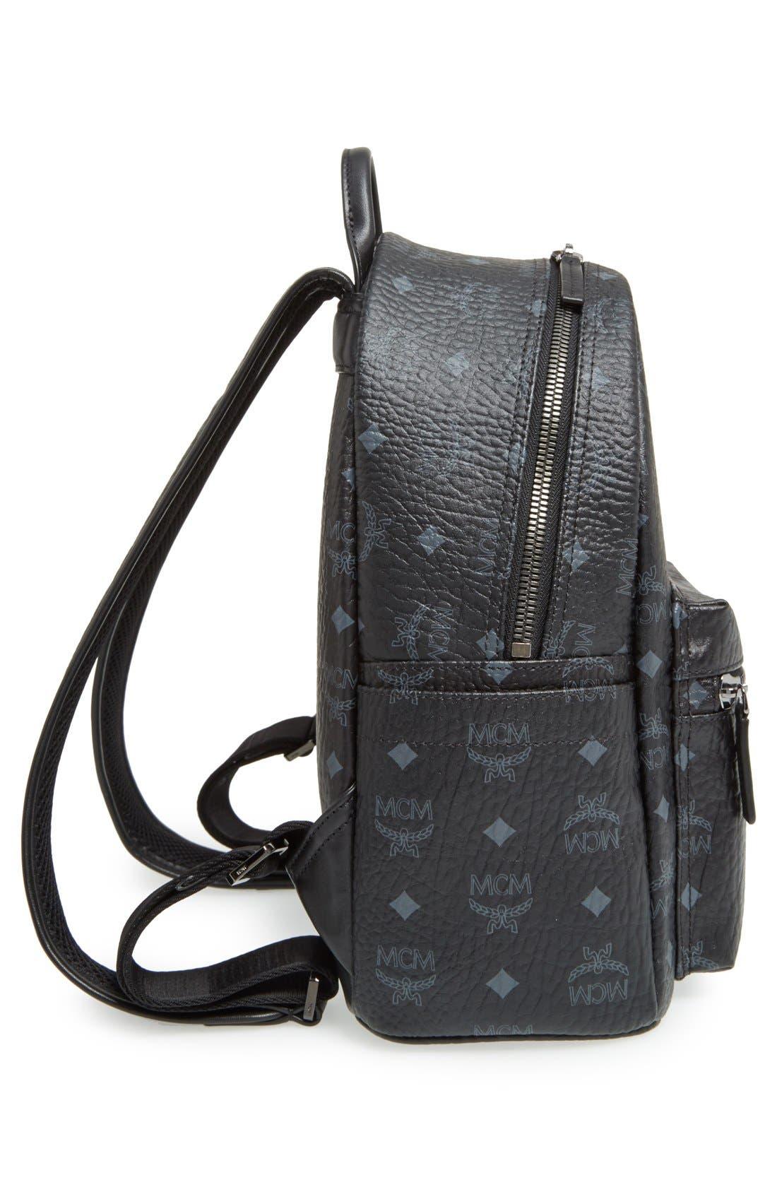 Alternate Image 5  - MCM Small Stark - Visetos Backpack