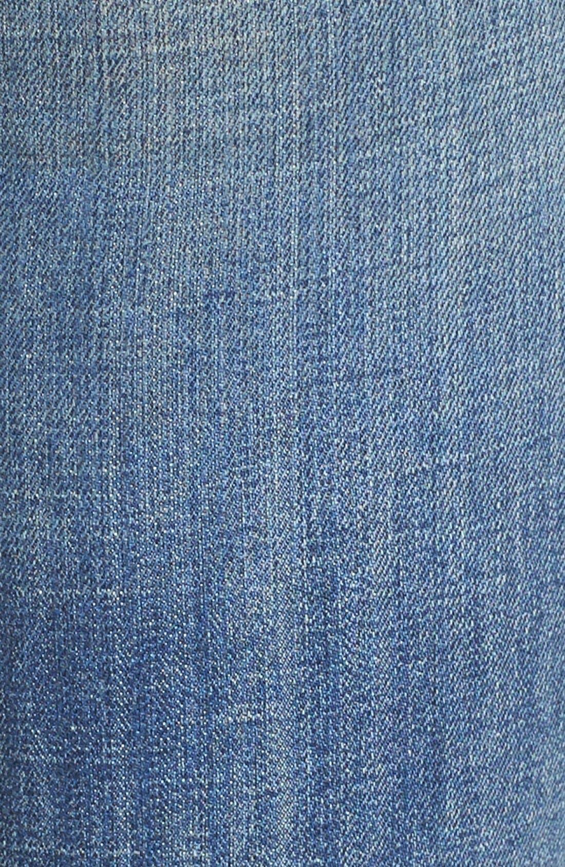 Alternate Image 5  - Vigoss 'Chelsea' Destroyed Ankle Skinny Jeans