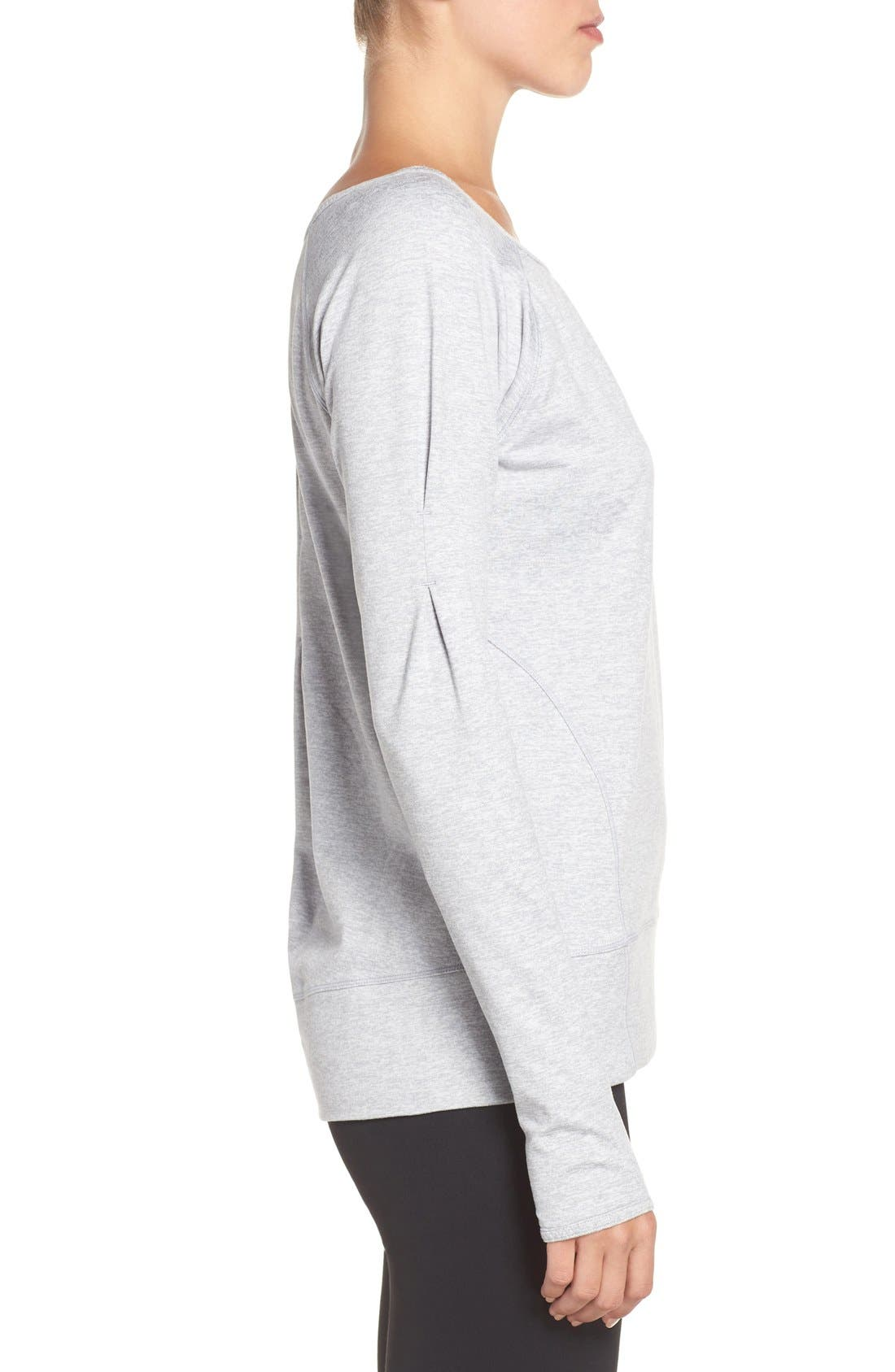 Alternate Image 3  - Zella Etoile Pullover Sweatshirt