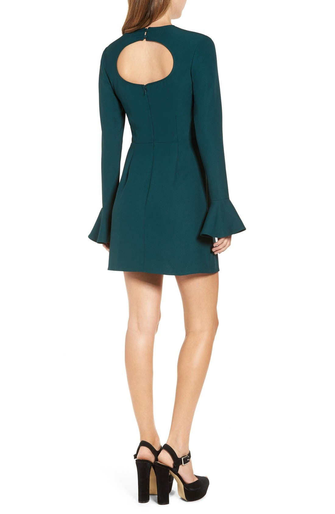 Alternate Image 2  - Leith Bell Sleeve Sheath Dress