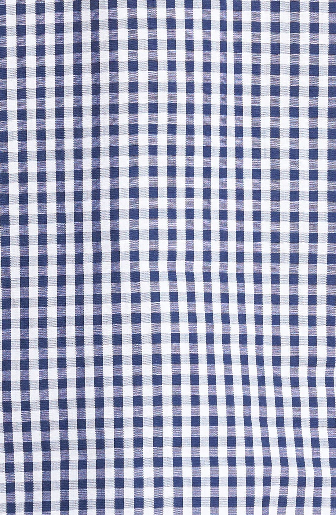 'Hot & Cold' Pajamas,                             Alternate thumbnail 5, color,                             Blue Gingham
