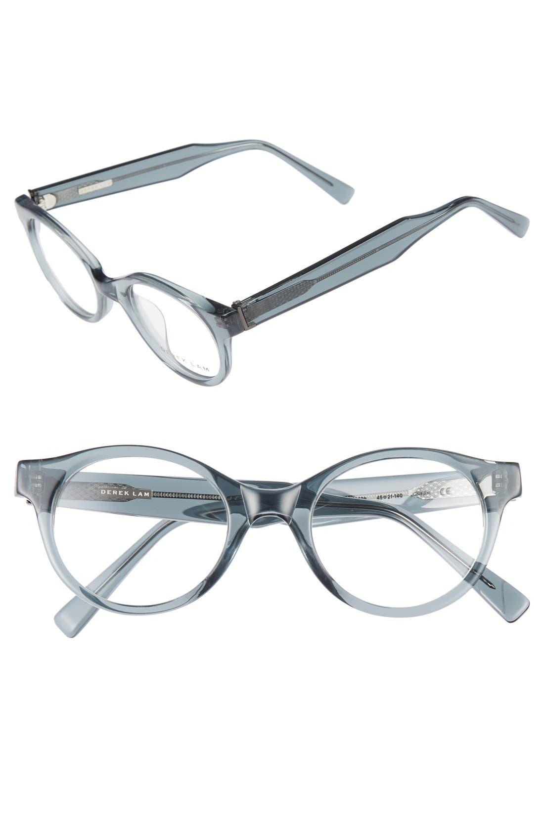 45mm Optical Glasses,                         Main,                         color, Grey Smoke