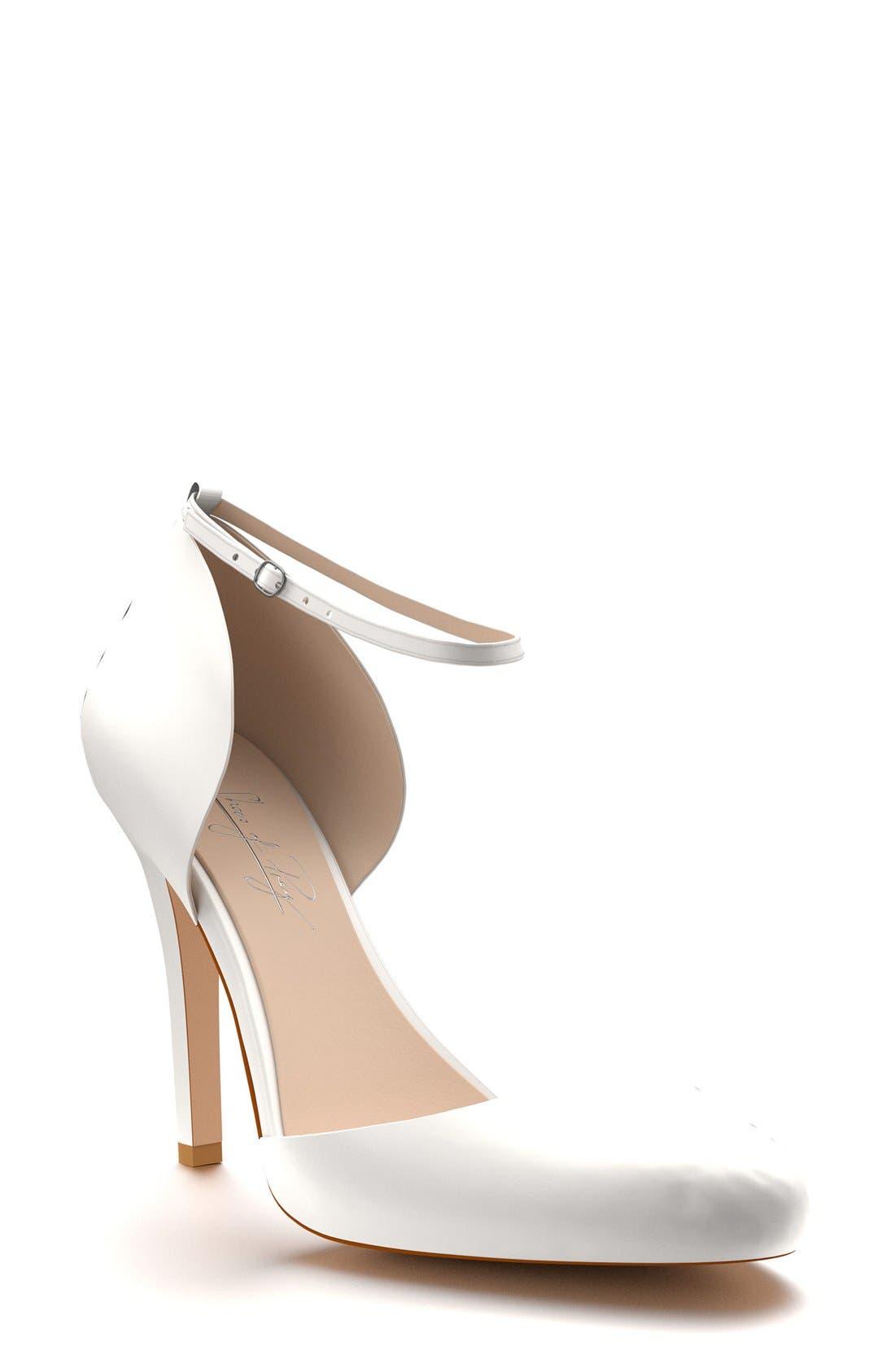 Shoes of Prey Ankle Strap d'Orsay Pump (Women)