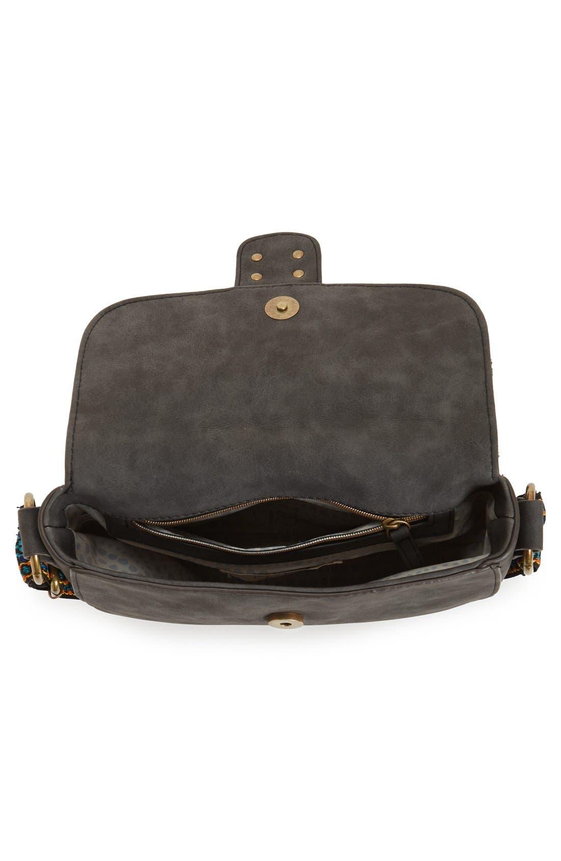 Alternate Image 4  - Elle & Jae Gypset 'Marrakesh' Faux Suede Crossbody Bag