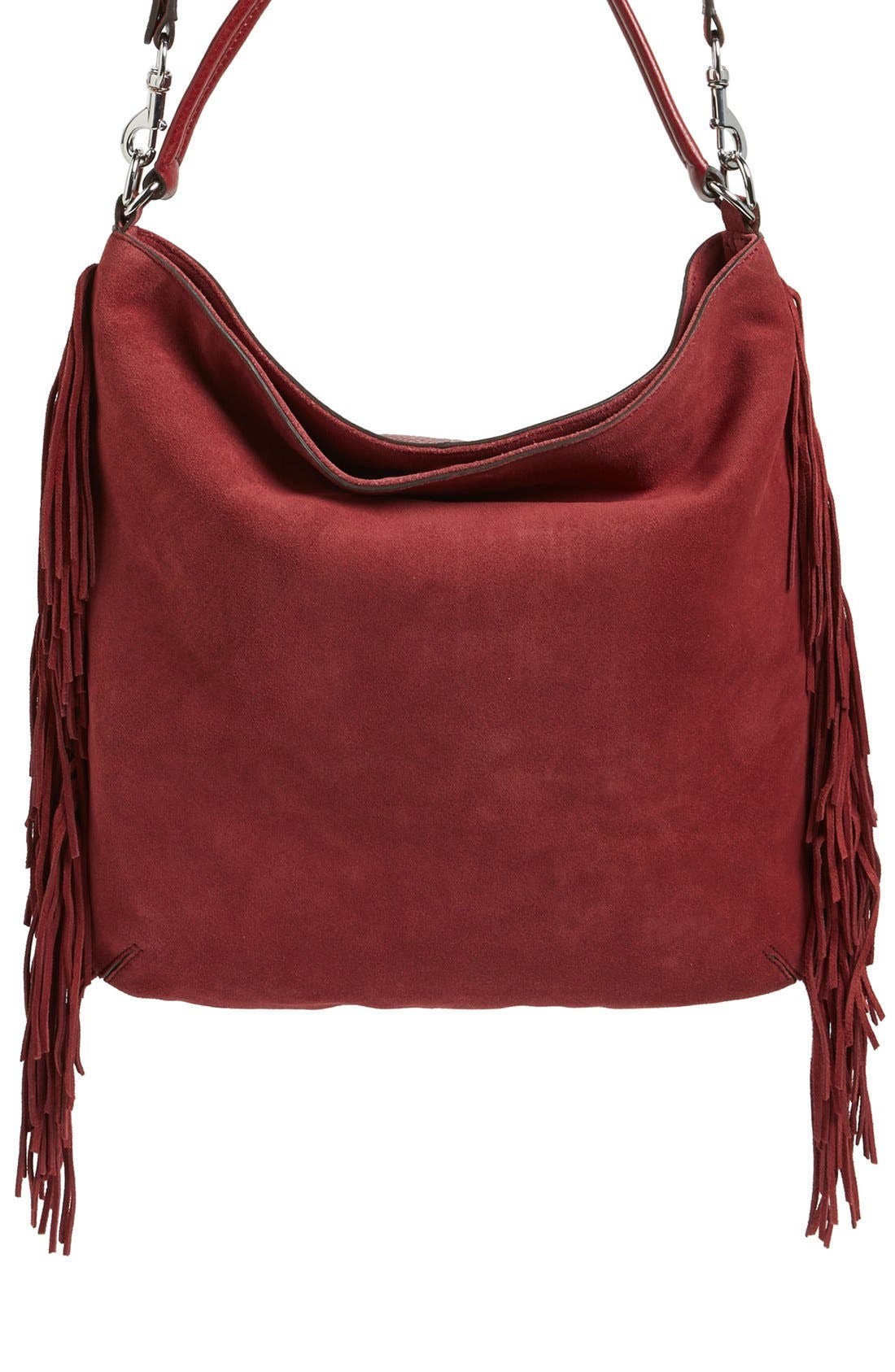 Alternate Image 3  - Rebecca Minkoff Clark Fringe Suede Hobo Bag