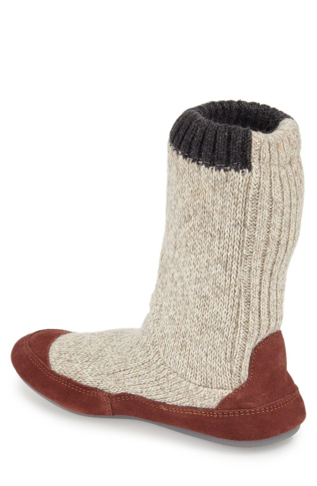 Alternate Image 2  - Acorn 'Slouch Boot' Slipper (Men)