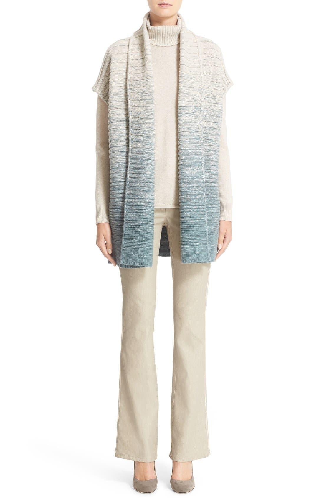 Alternate Image 7  - Lafayette 148 New York Wool & Cashmere Turtleneck Sweater