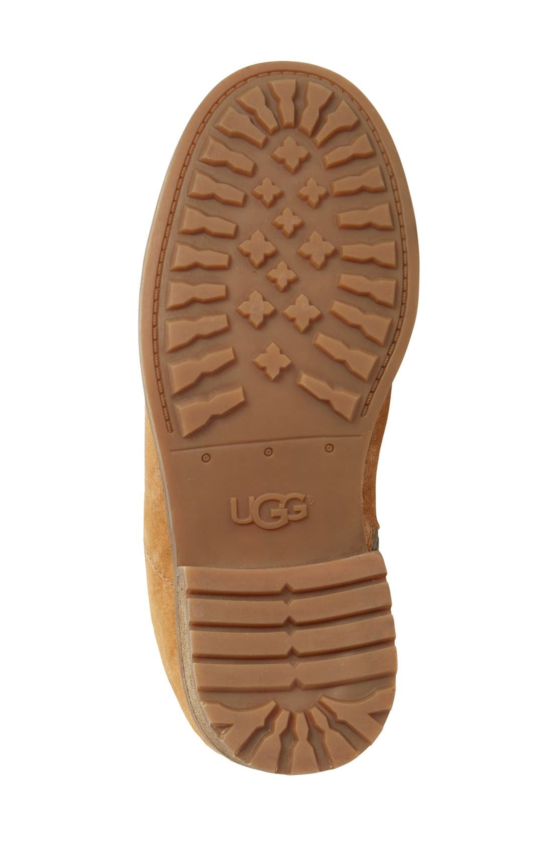 Alternate Image 4  - UGG® Keppler Genuine Shearling Lined Moto Boot (Women)