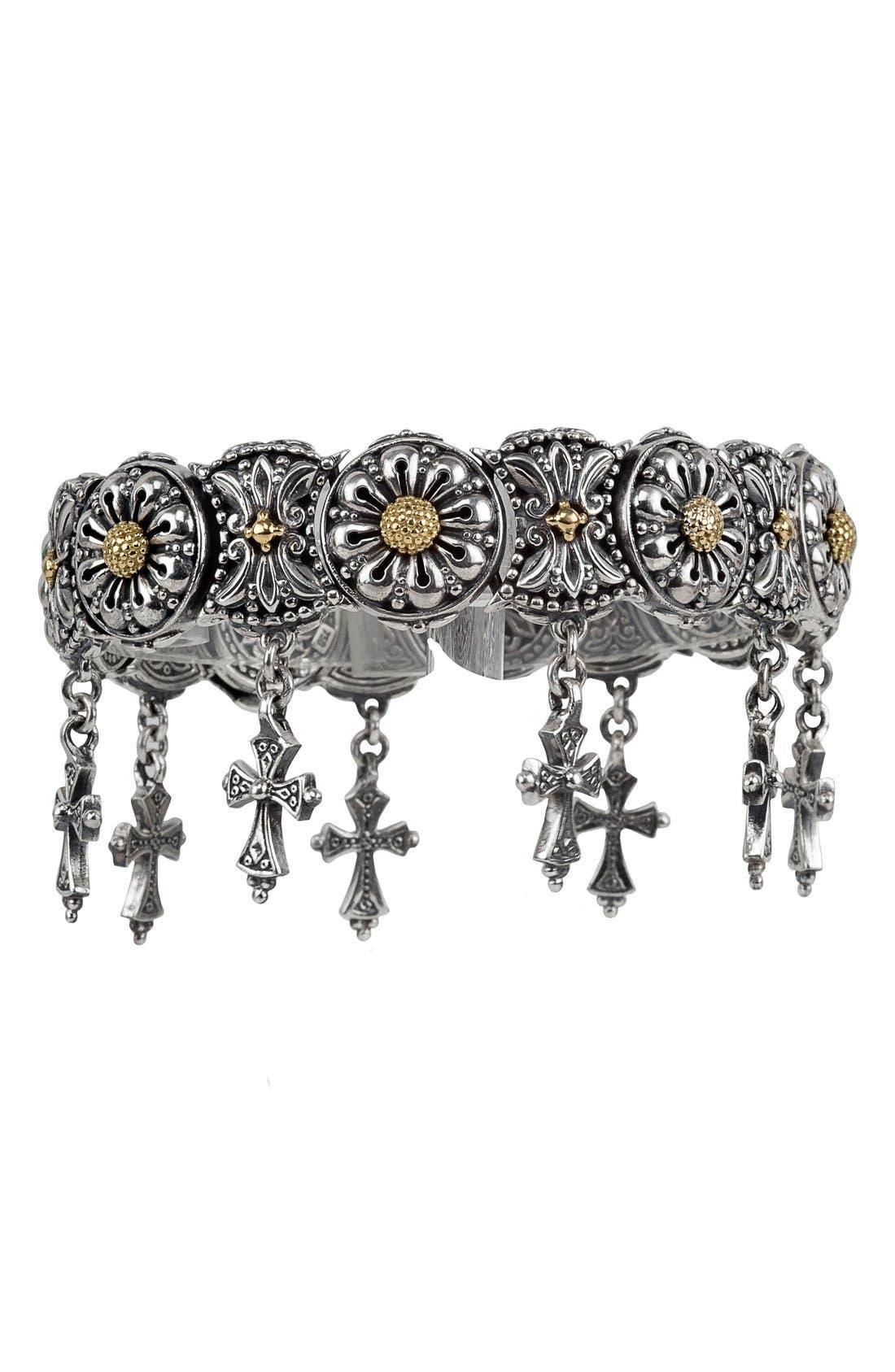 KONSTANTINO Penelope Cross Charm Bracelet