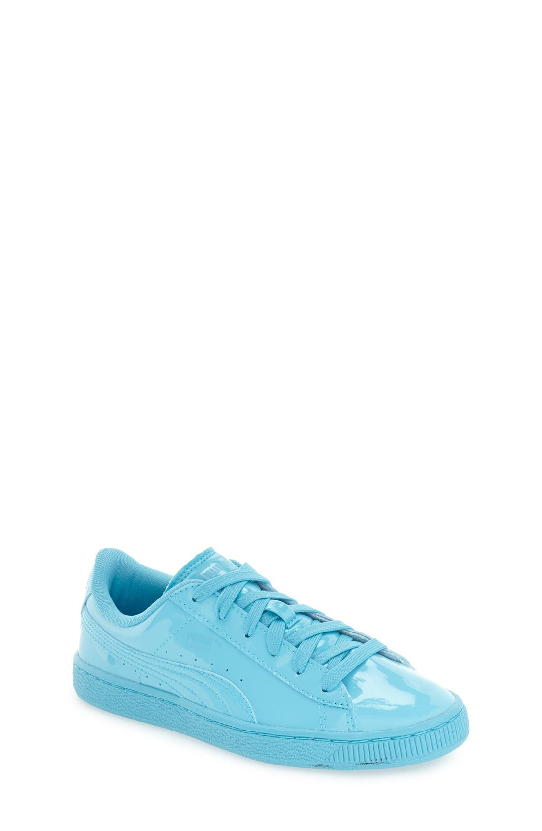 'Basket Classic' Sneaker,                             Main thumbnail 1, color,                             Blue Atoll-Blue Atoll