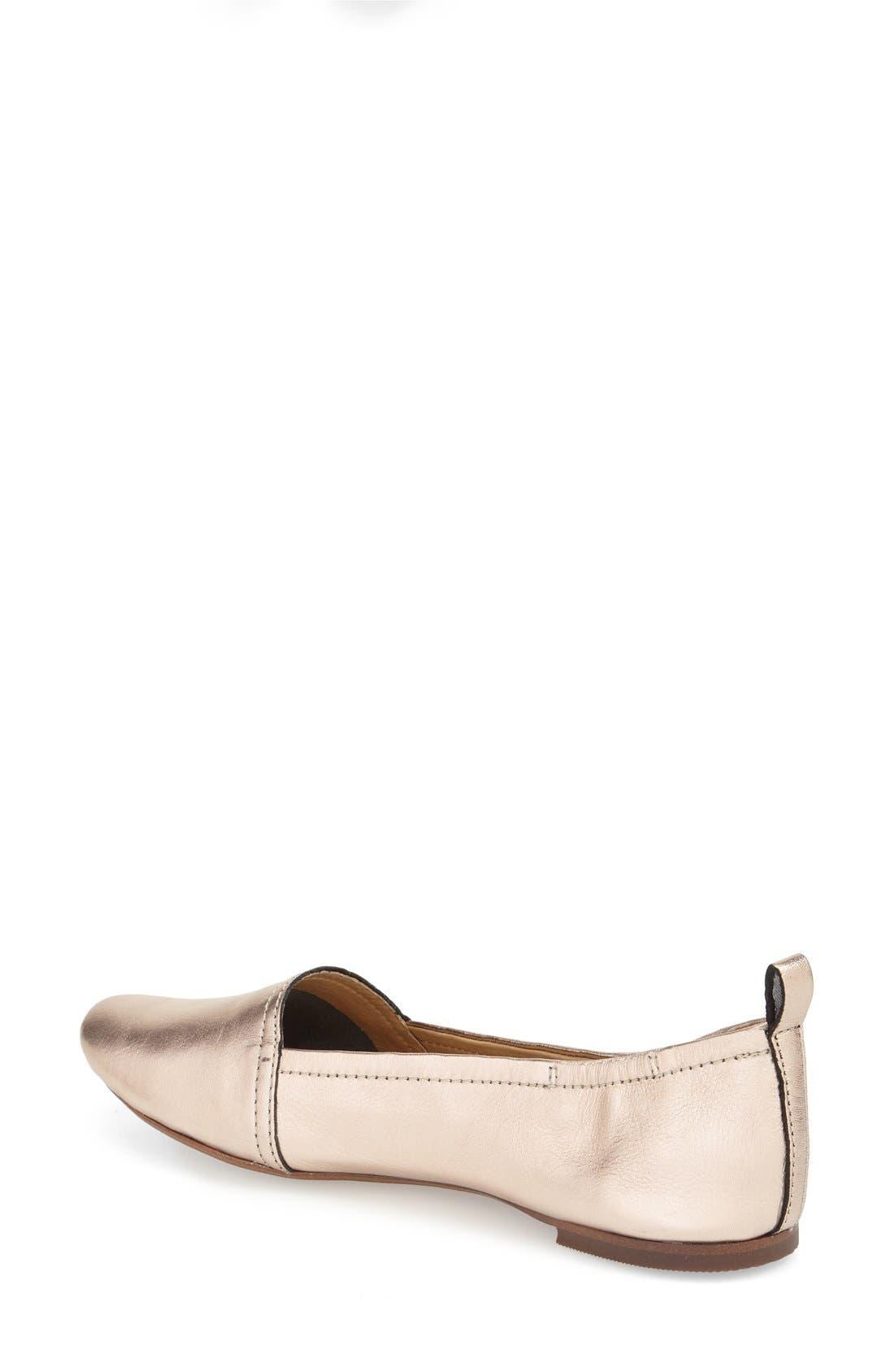 Alternate Image 2  - Latigo 'Bettie' Leather Flat (Women)