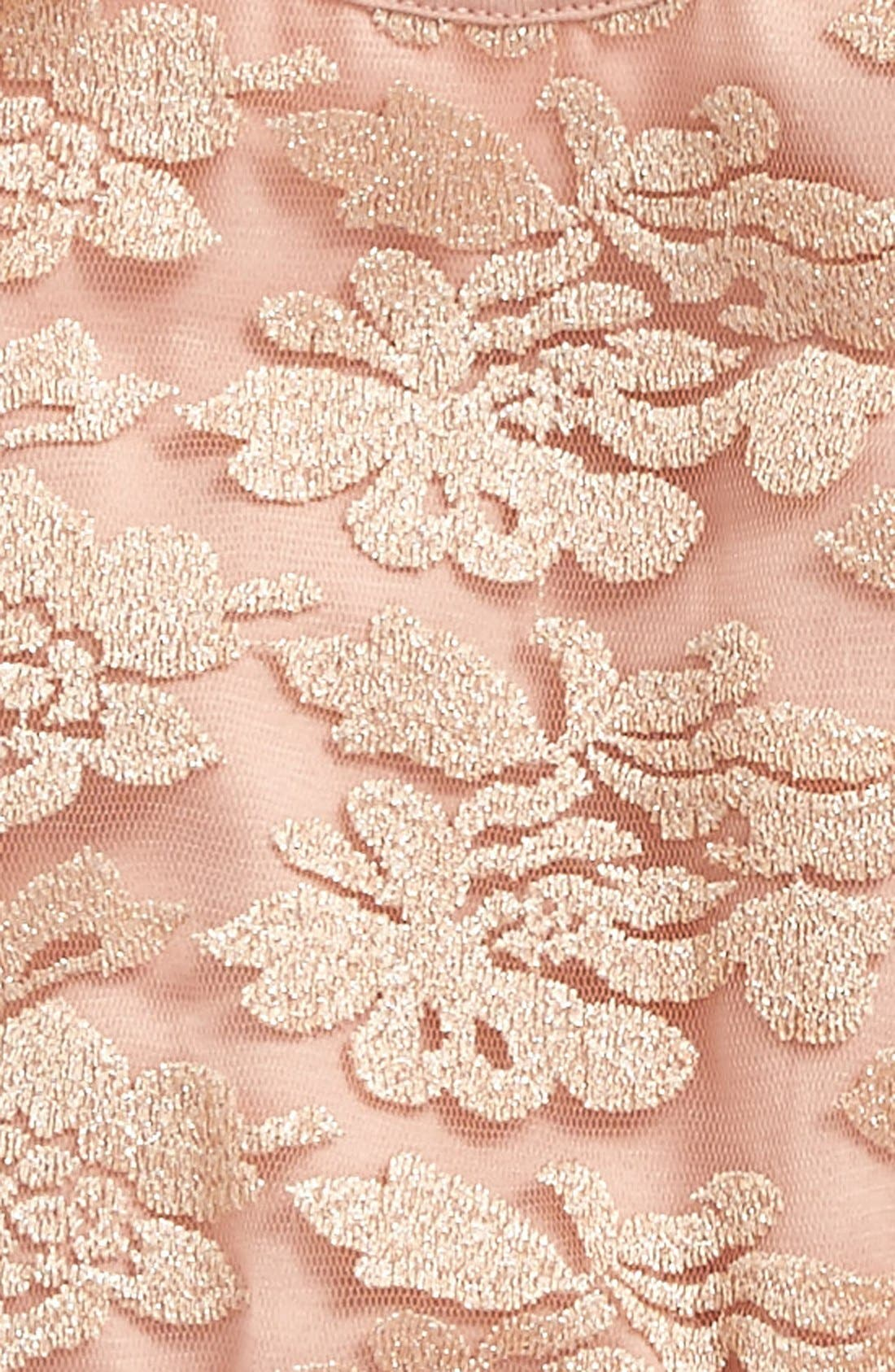 Lace Pettidress,                             Alternate thumbnail 2, color,                             Dusty Pink