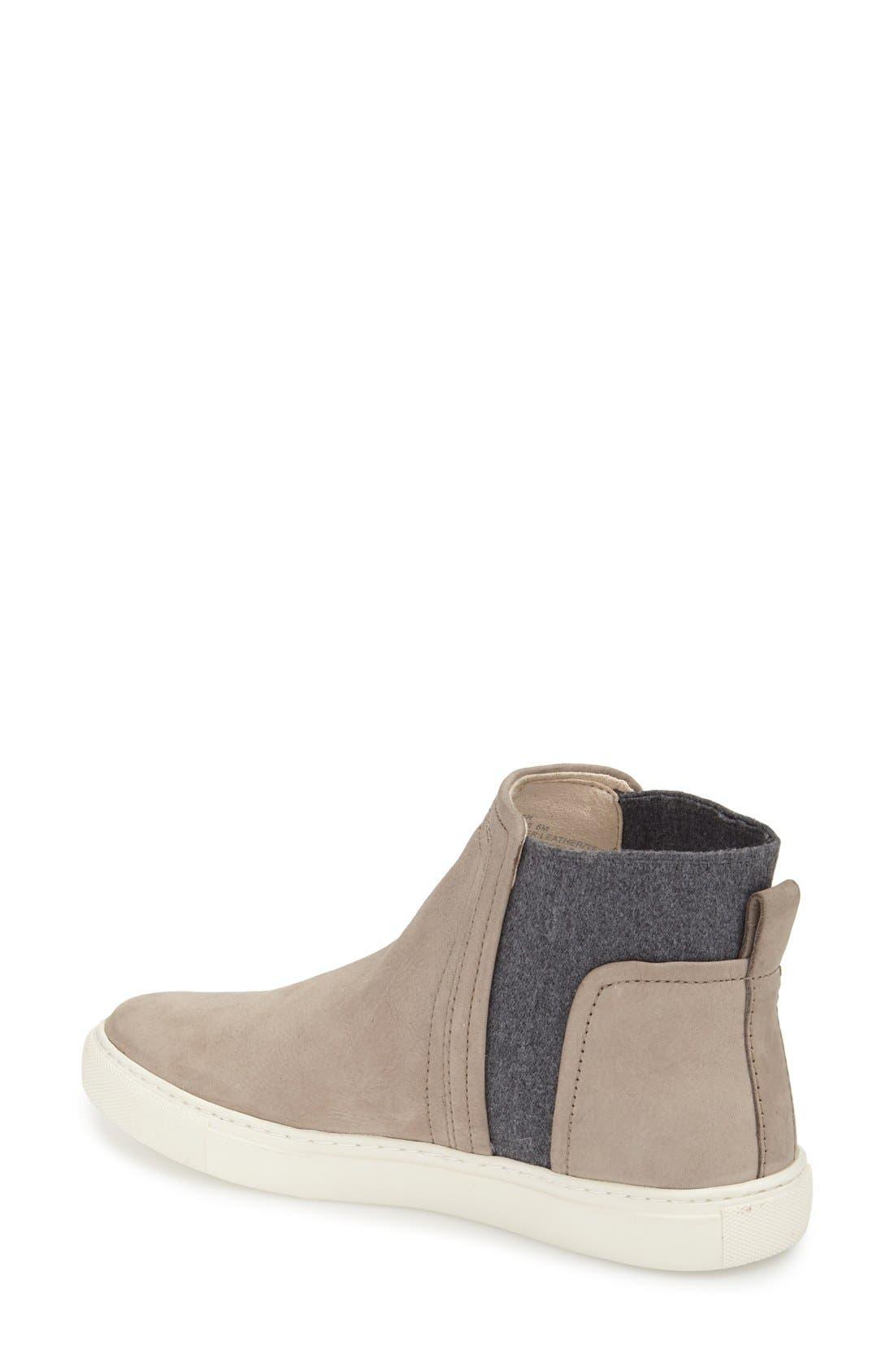 Alternate Image 2  - Kenneth Cole New York 'Ken' Leather Slip-On Sneaker (Women)