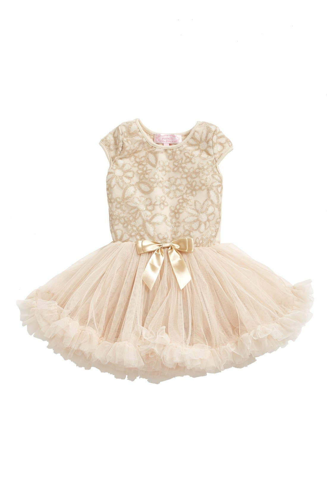 Main Image - Popatu Lace Pettidress (Baby Girls)