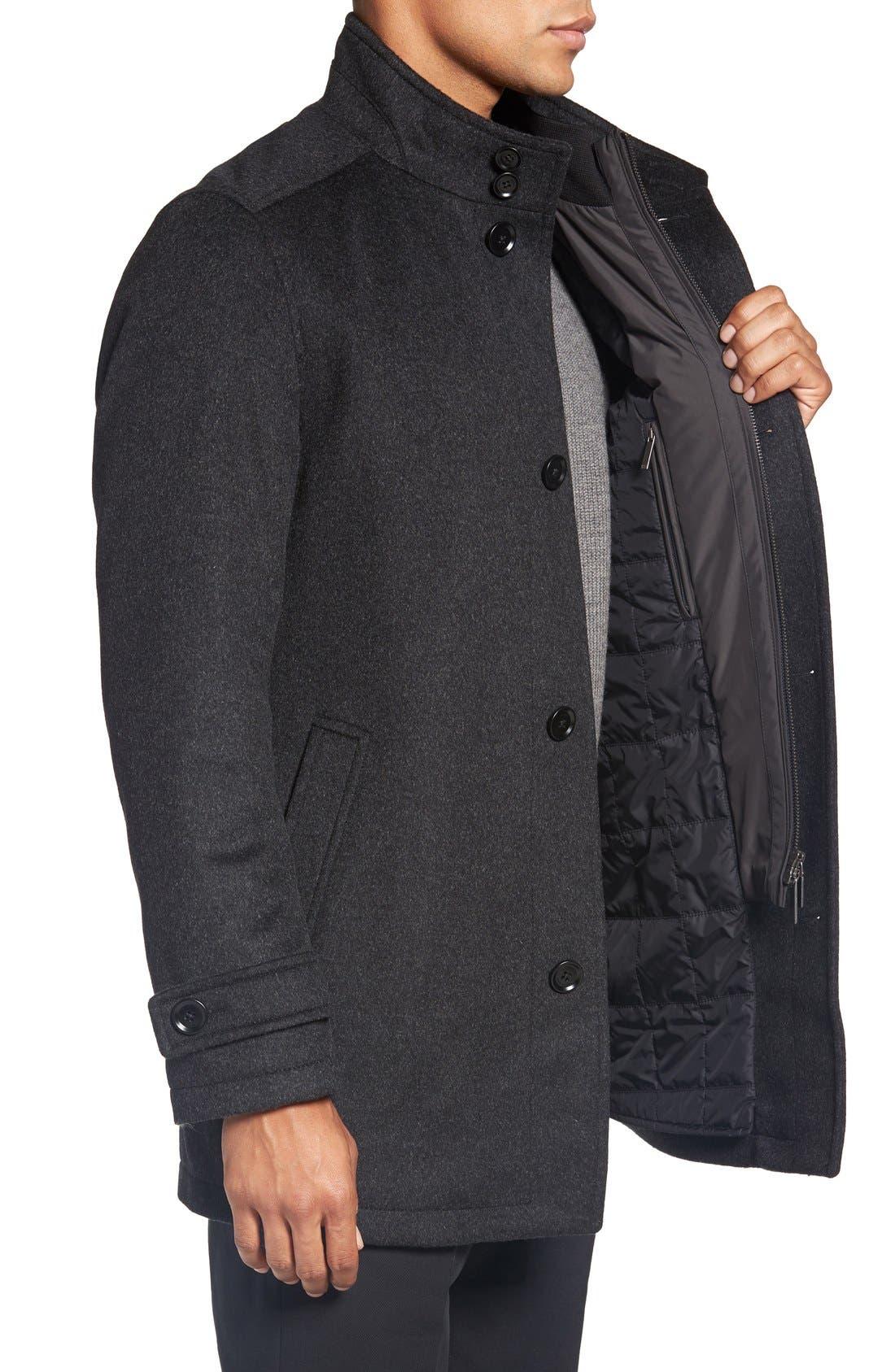 Alternate Image 3  - BOSS 'Camlow' Wool & Cashmere Car Coat