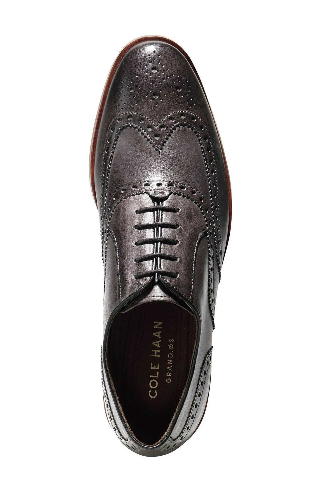 Hamilton Wingtip,                             Alternate thumbnail 3, color,                             Dark Grey