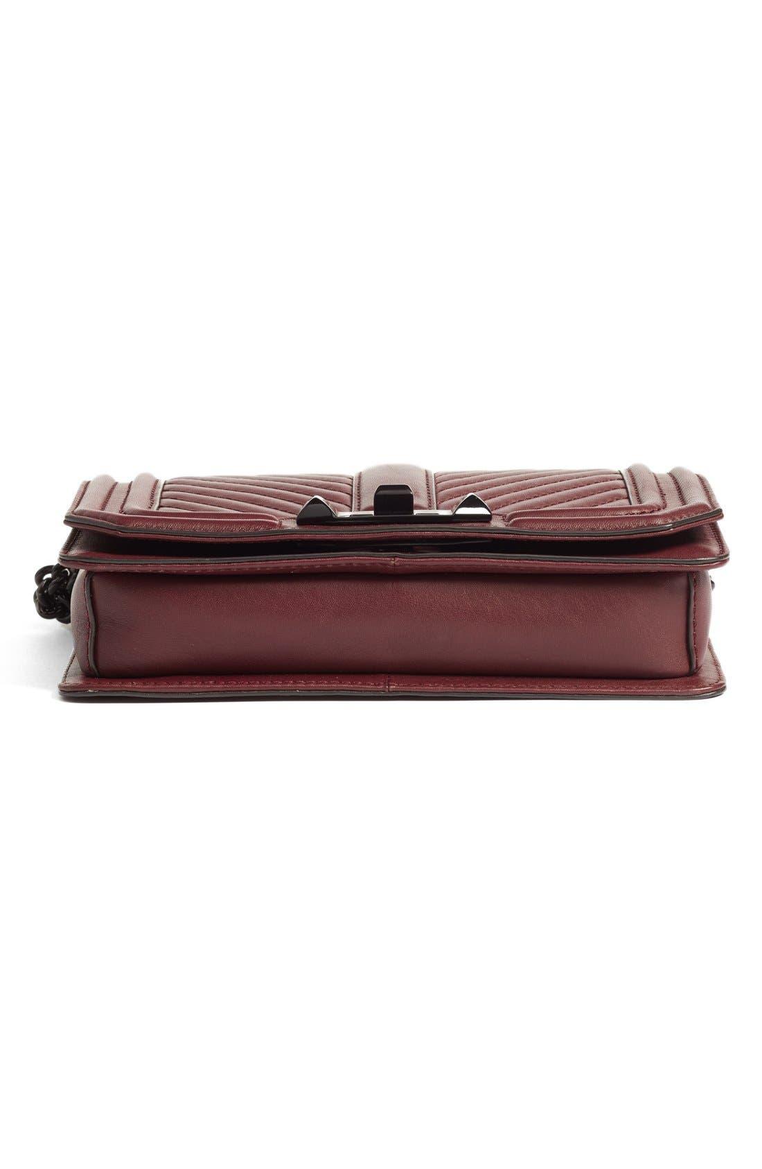 Alternate Image 6  - Rebecca Minkoff Small Love Leather Crossbody Bag