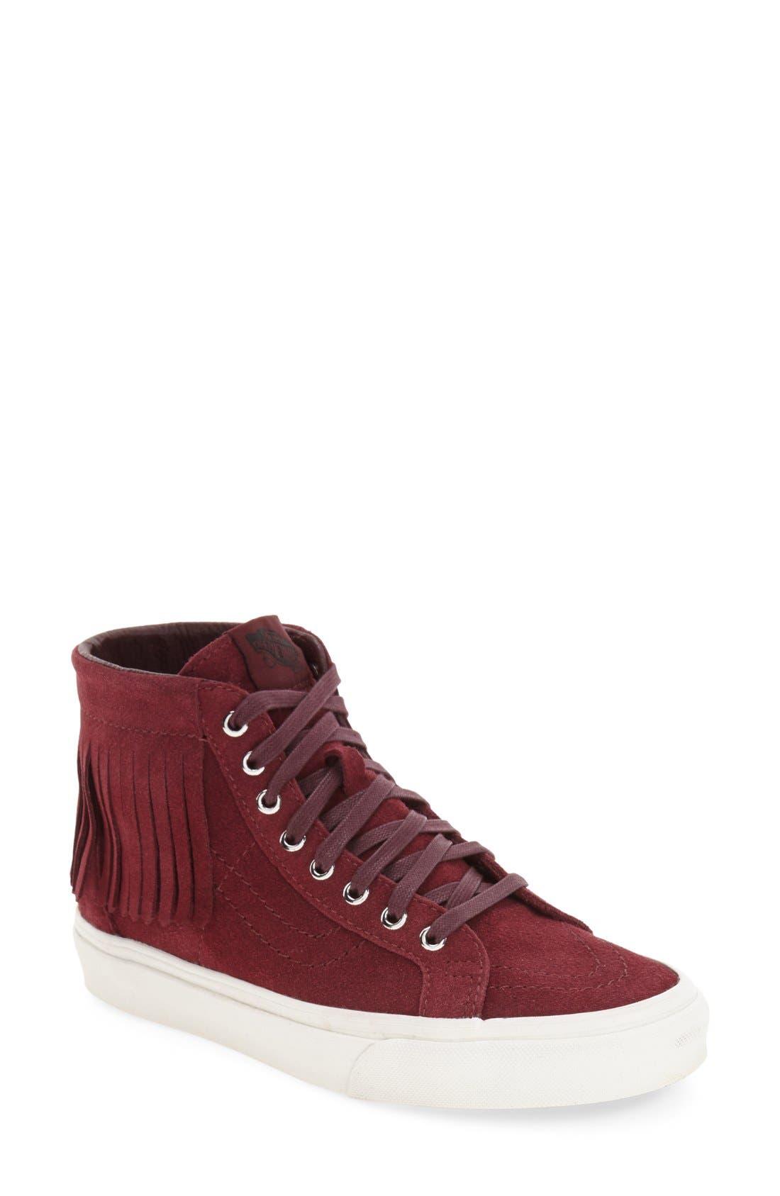 Alternate Image 1 Selected - Vans 'Sk8-Hi' Moc Sneaker (Women)