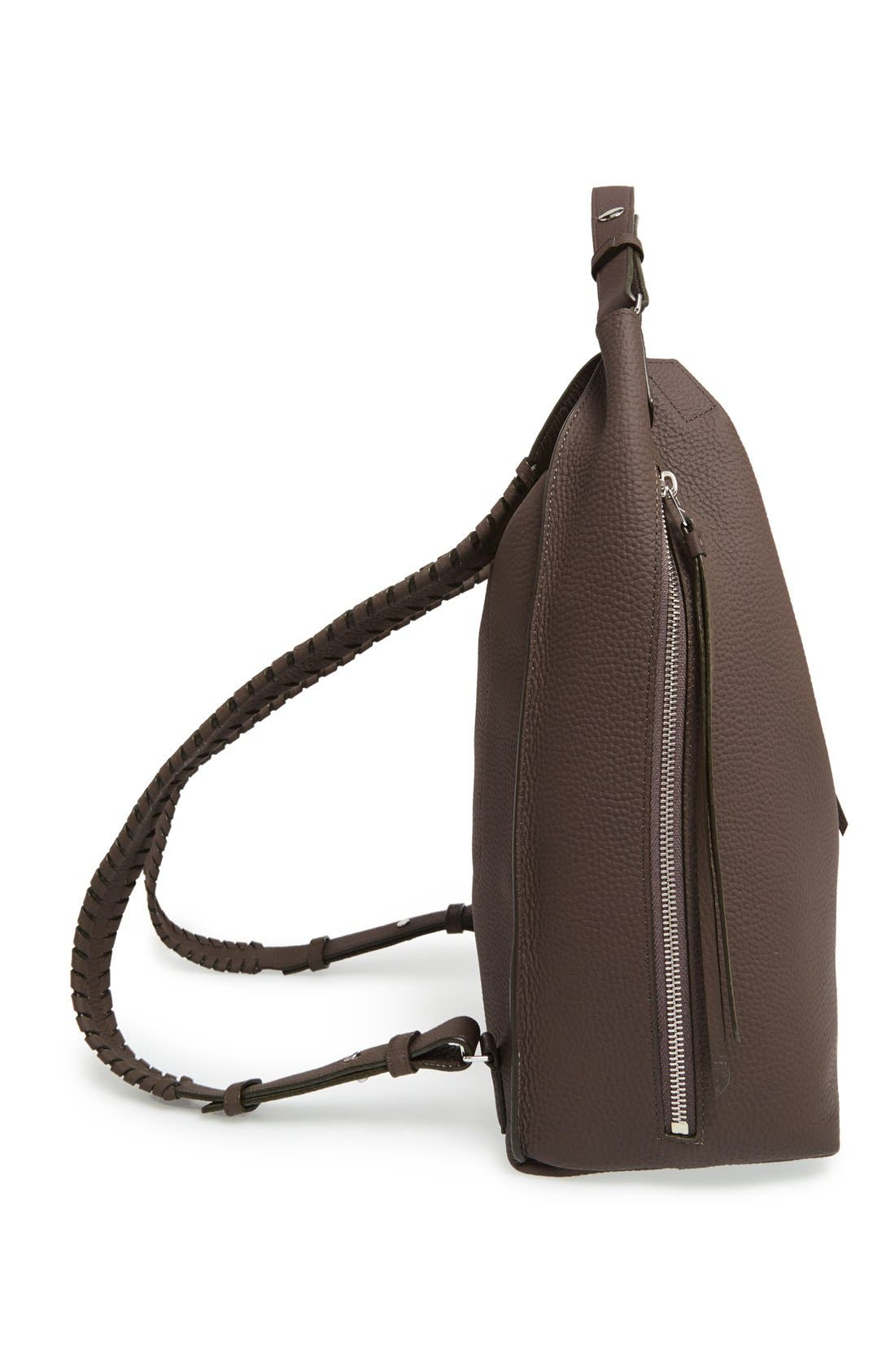 Alternate Image 5  - ALLSAINTS Kita Convertible Leather Backpack
