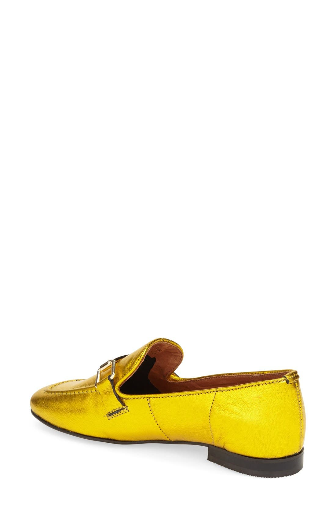 Alternate Image 2  - Topshop 'Karter' Square Toe Loafer (Women)