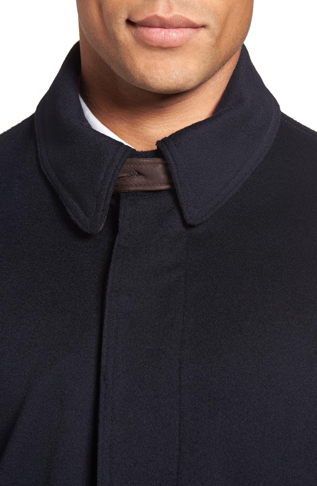 Alternate Image 4  - Golden Bear Wool Overcoat