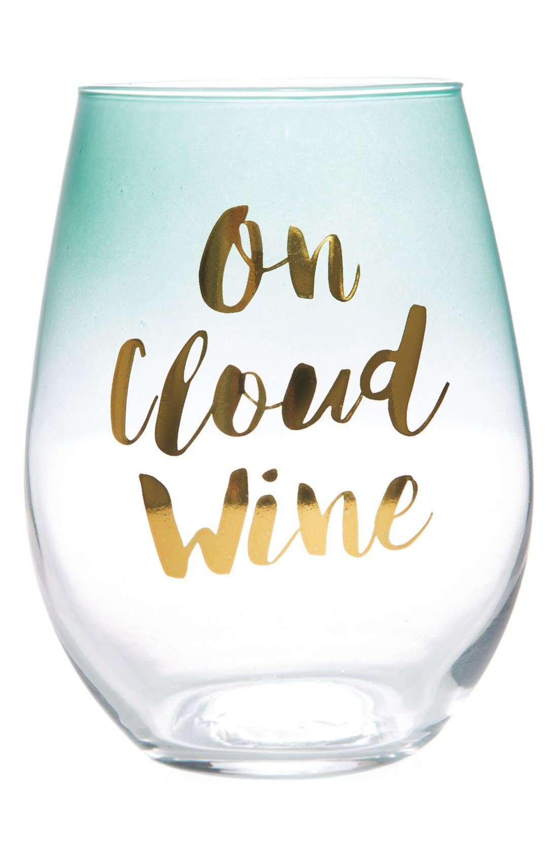 Alternate Image 1 Selected - Slant Collections On Cloud Wine Stemless Wine Glass