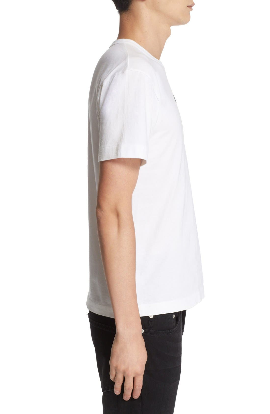 Alternate Image 3  - Comme des Garçons PLAY Logo Graphic T-Shirt