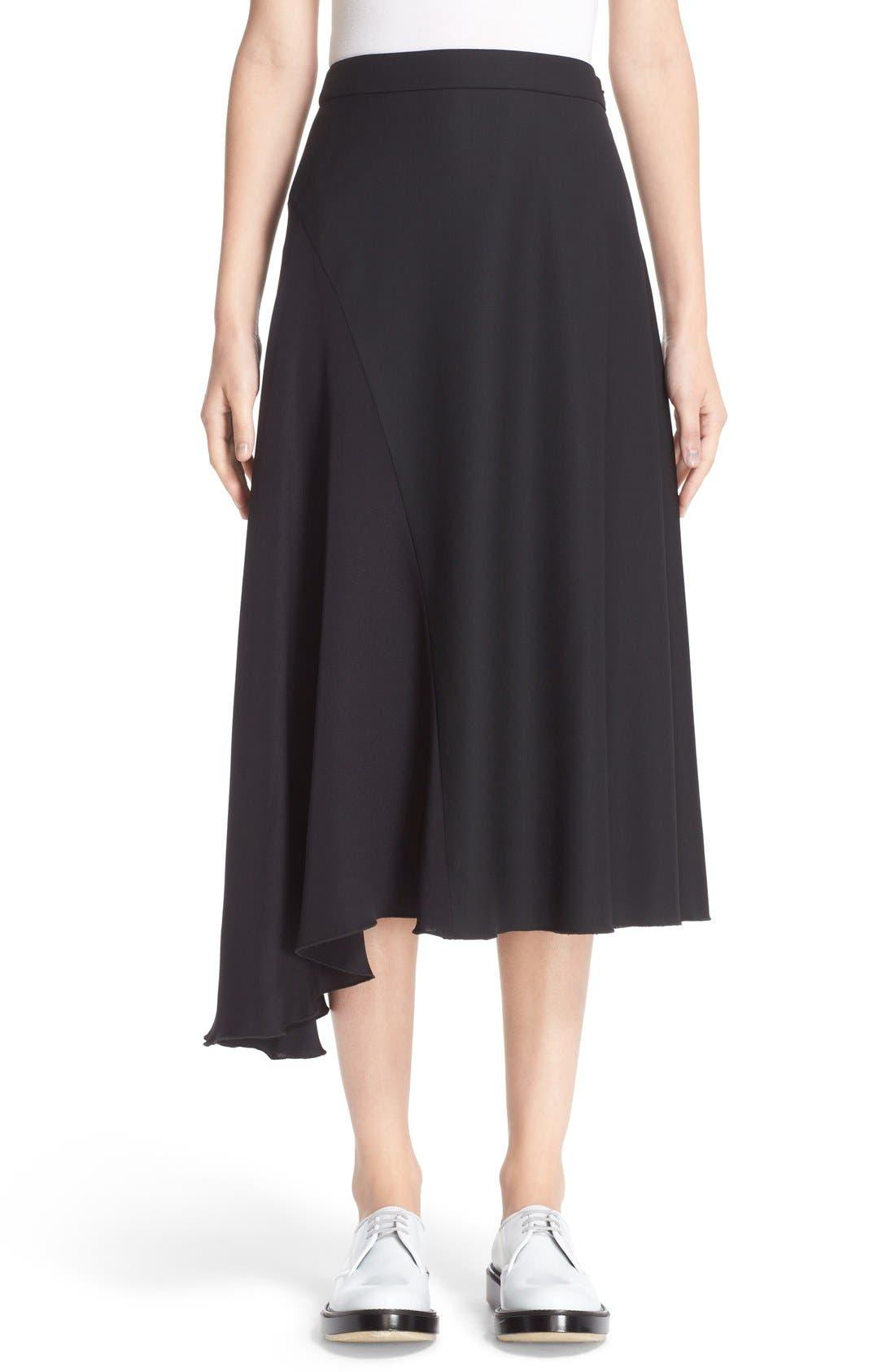 Colovos Seasonless Asymmetrical Midi Skirt